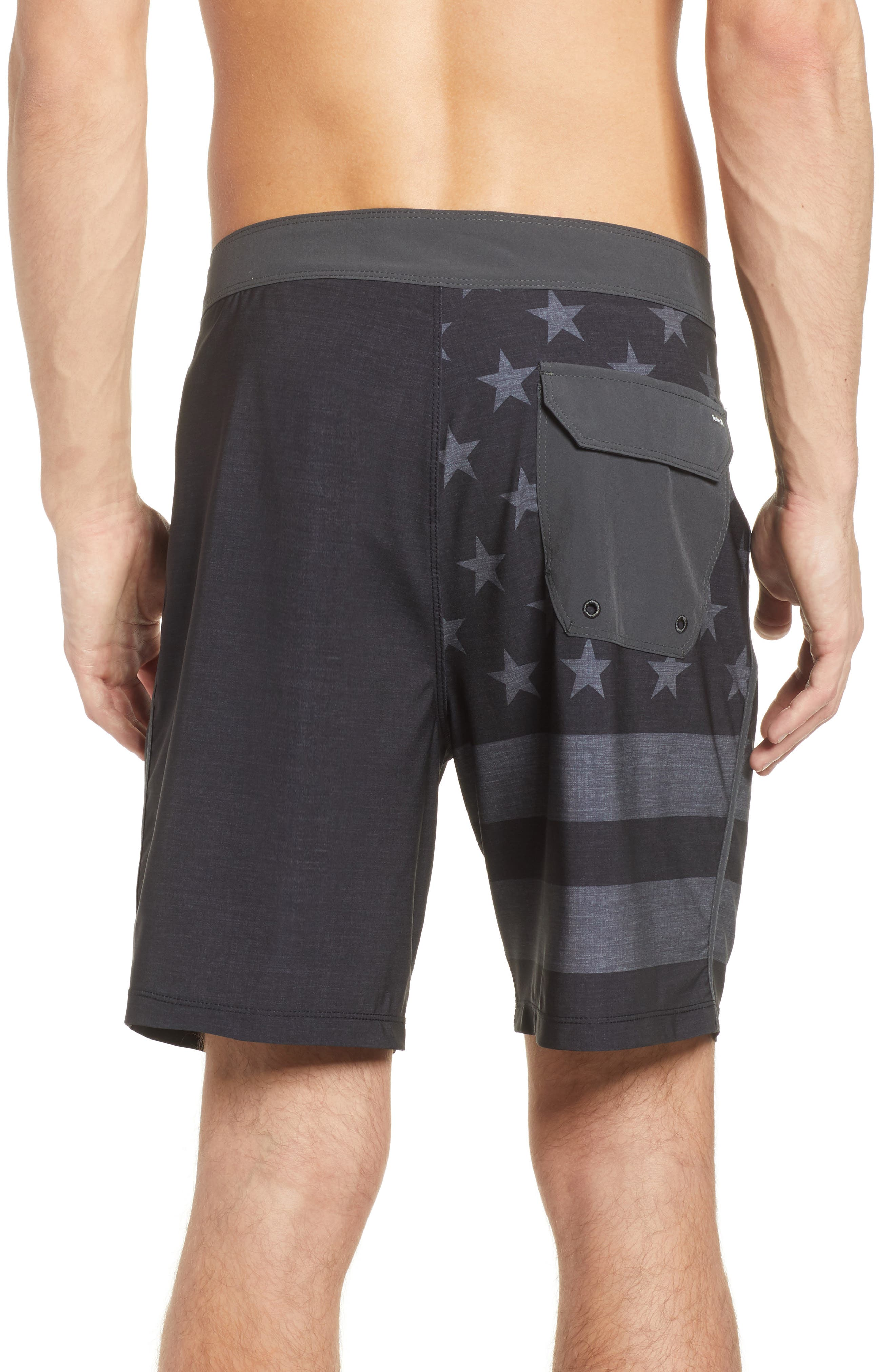 Phantom Cheers Board Shorts,                             Alternate thumbnail 2, color,                             Black