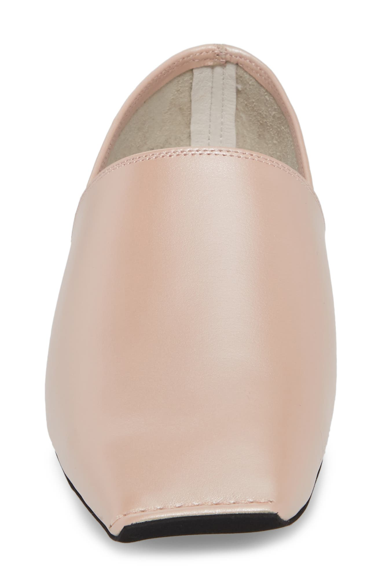 Lanvale Blunted Toe Flat,                             Alternate thumbnail 5, color,                             Pink Luster