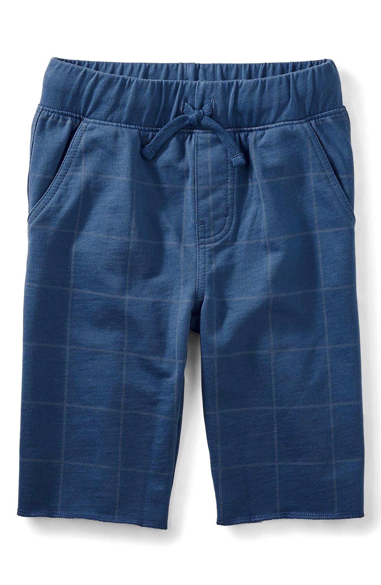 Cruiser Print Shorts,                         Main,                         color, Cobalt Windowpane