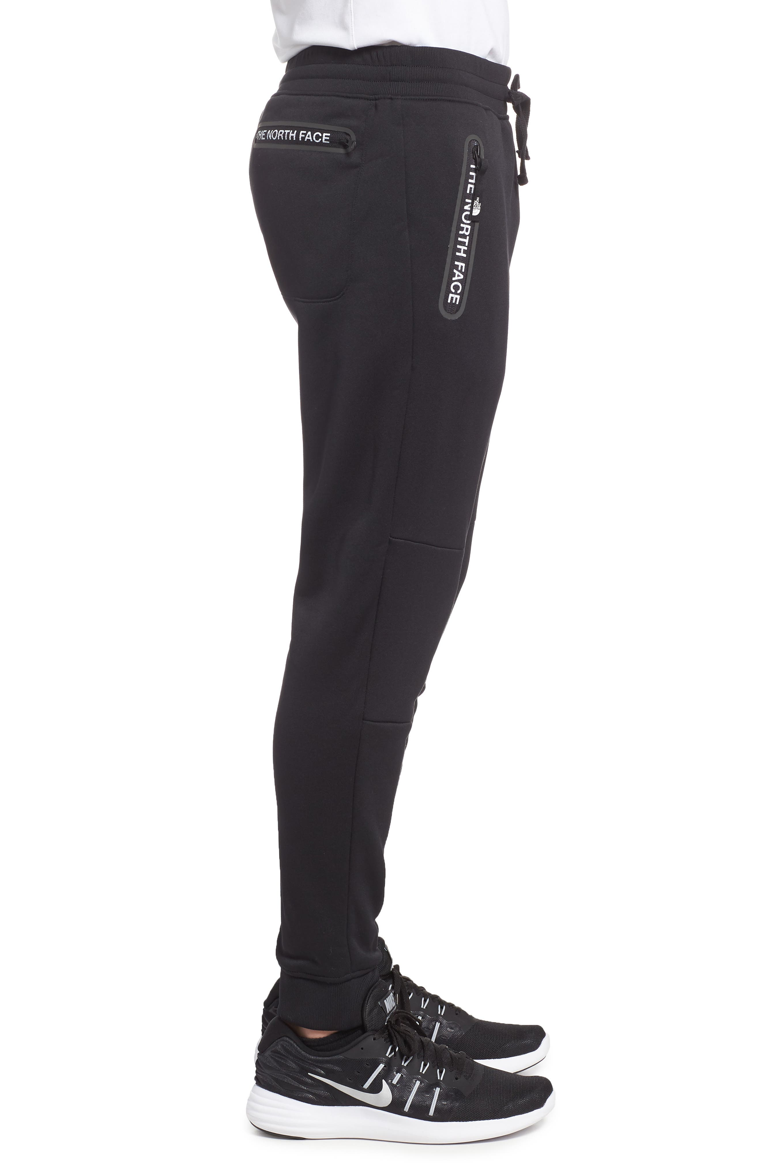 Mount Modern Jogger Pants,                             Alternate thumbnail 3, color,                             Tnf Black