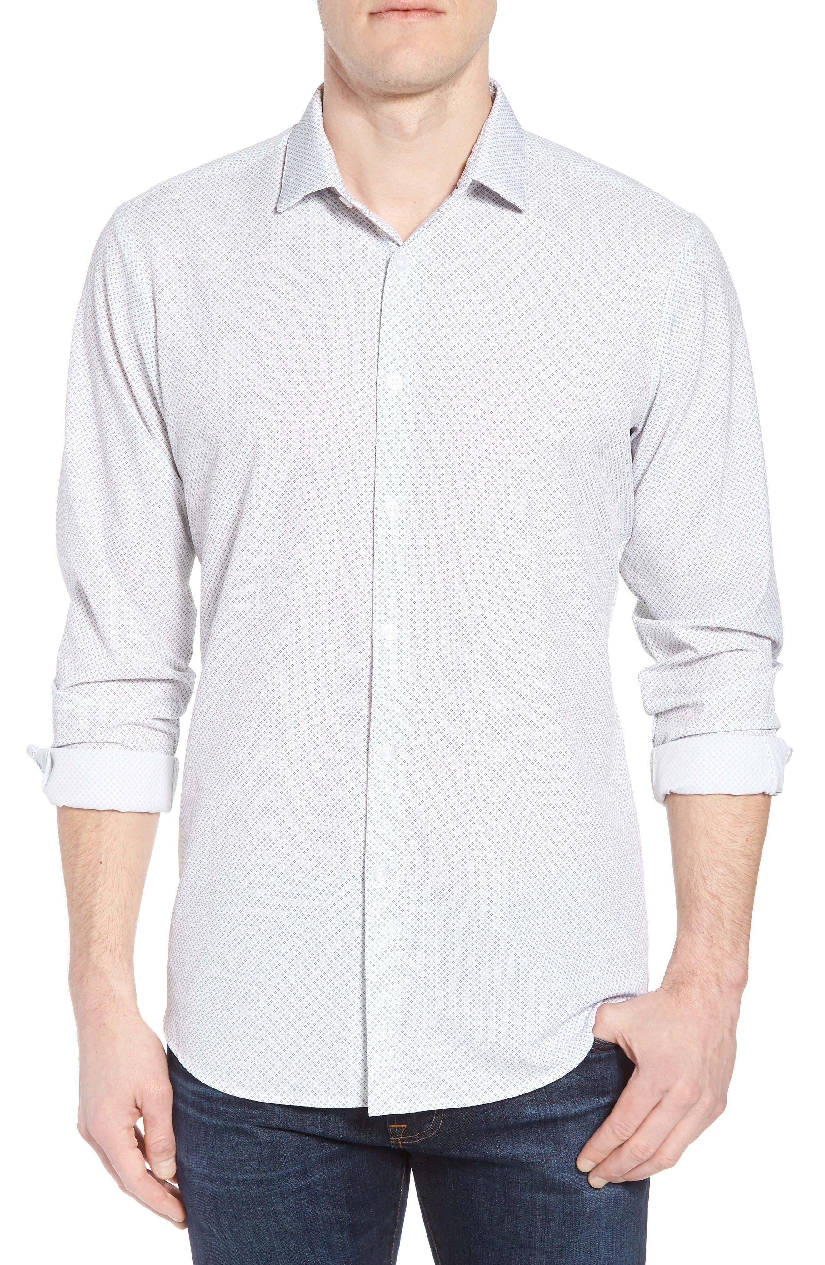 Chambers Performance Sport Shirt,                         Main,                         color, Blue