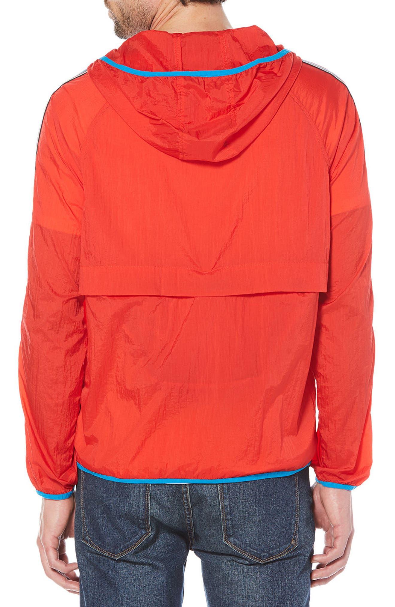 Lightweight Packable Jacket,                             Alternate thumbnail 2, color,                             Flame Scarlet
