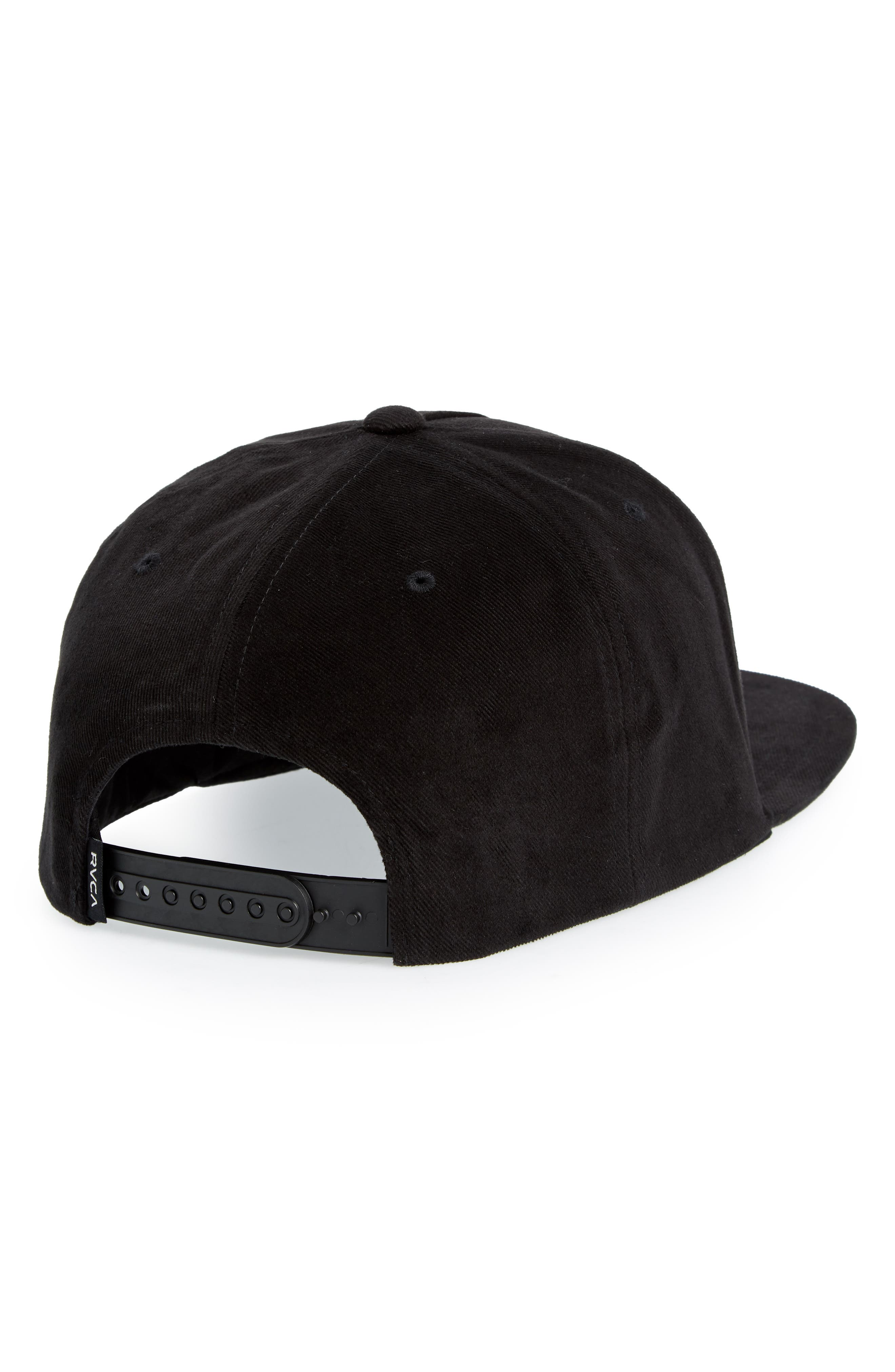 Neo Patch Snapback Hat,                             Alternate thumbnail 2, color,                             Black