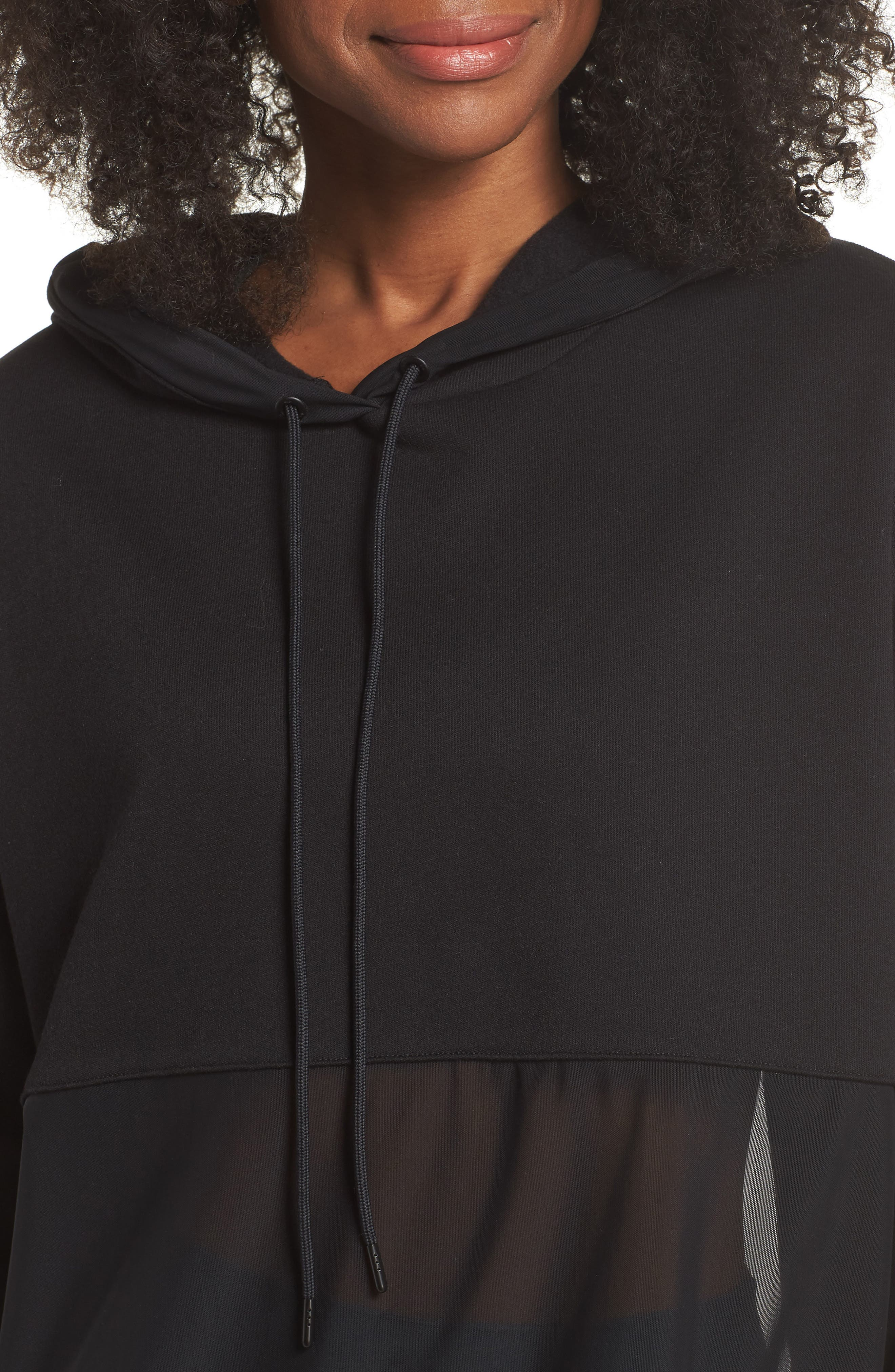 Perspective Hoodie,                             Alternate thumbnail 4, color,                             Black