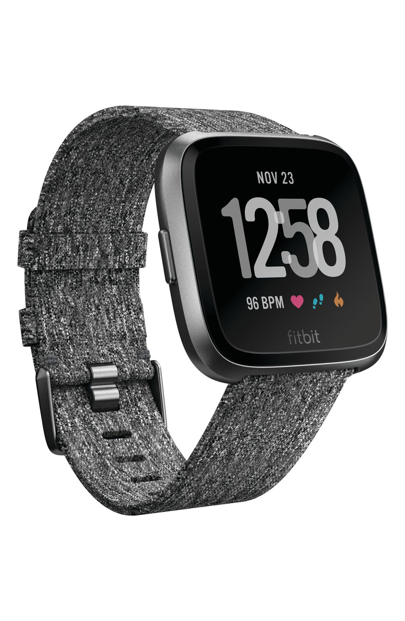 Versa Special Edition Smartwatch,                             Main thumbnail 1, color,                             Charcoal