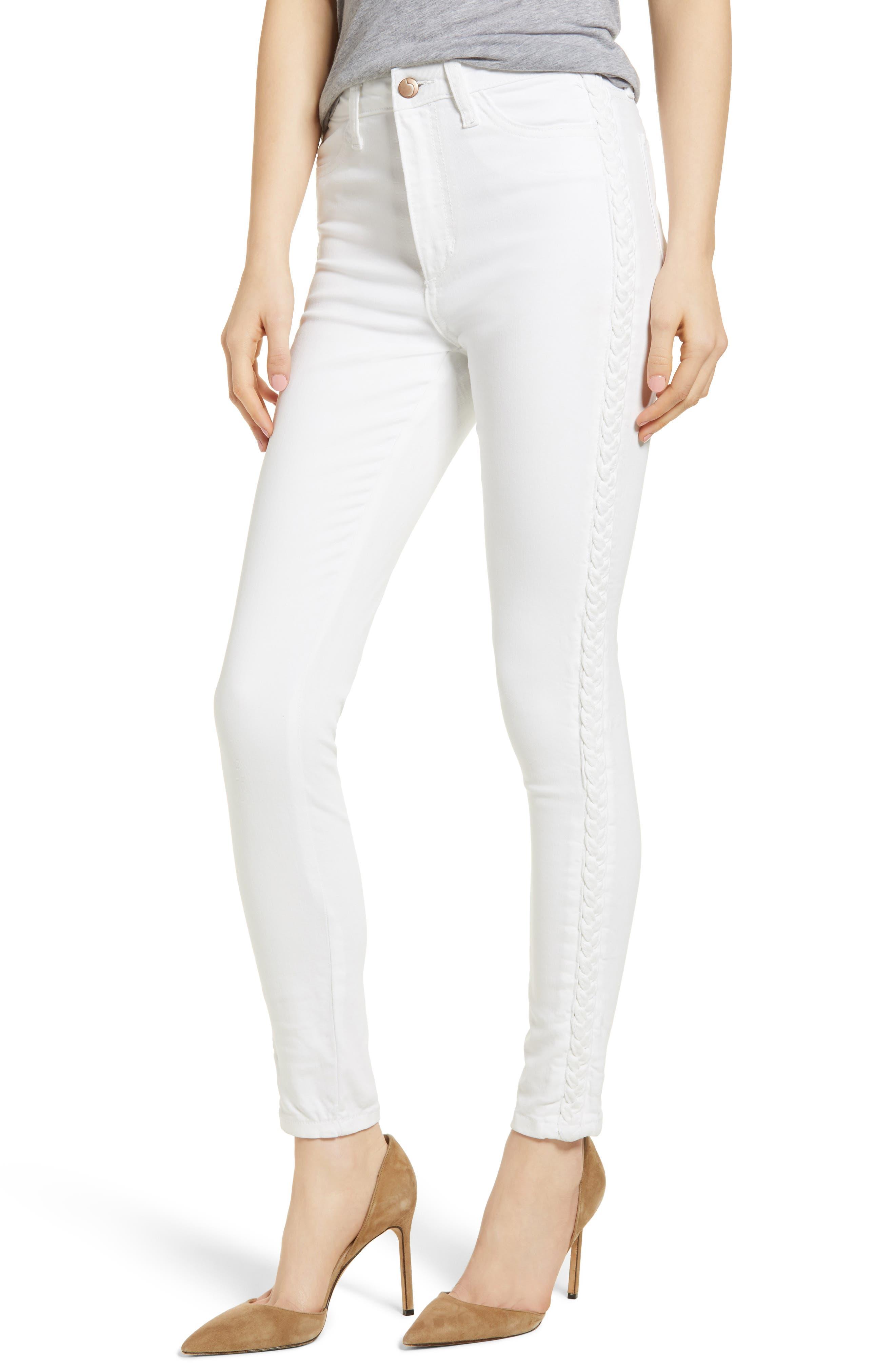 Charlie High Waist Skinny Jeans,                         Main,                         color, Porscha