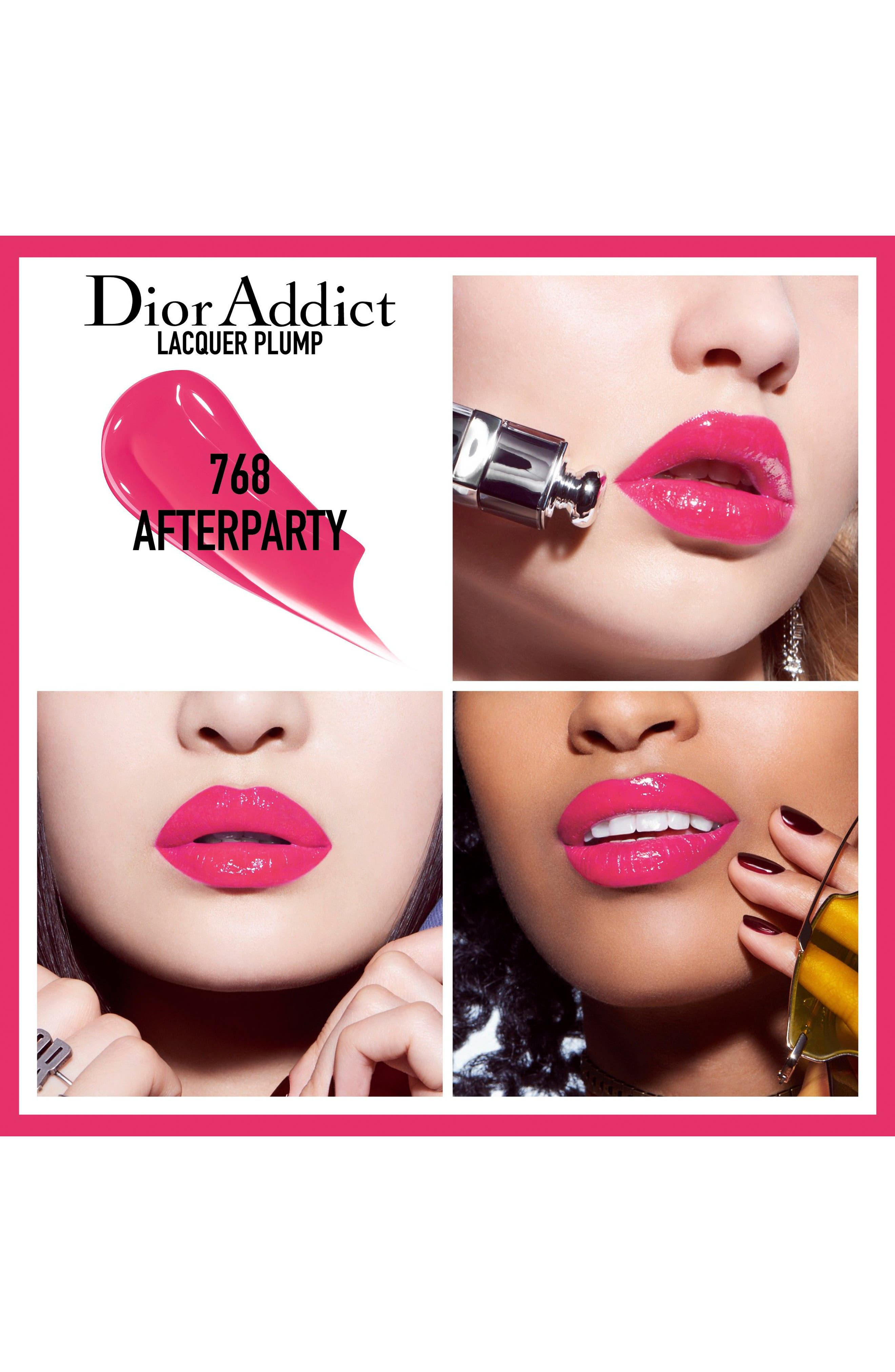 Addict Lip Plumping Lacquer Ink,                             Alternate thumbnail 2, color,                             768 Afterparty /Raspberry Pink
