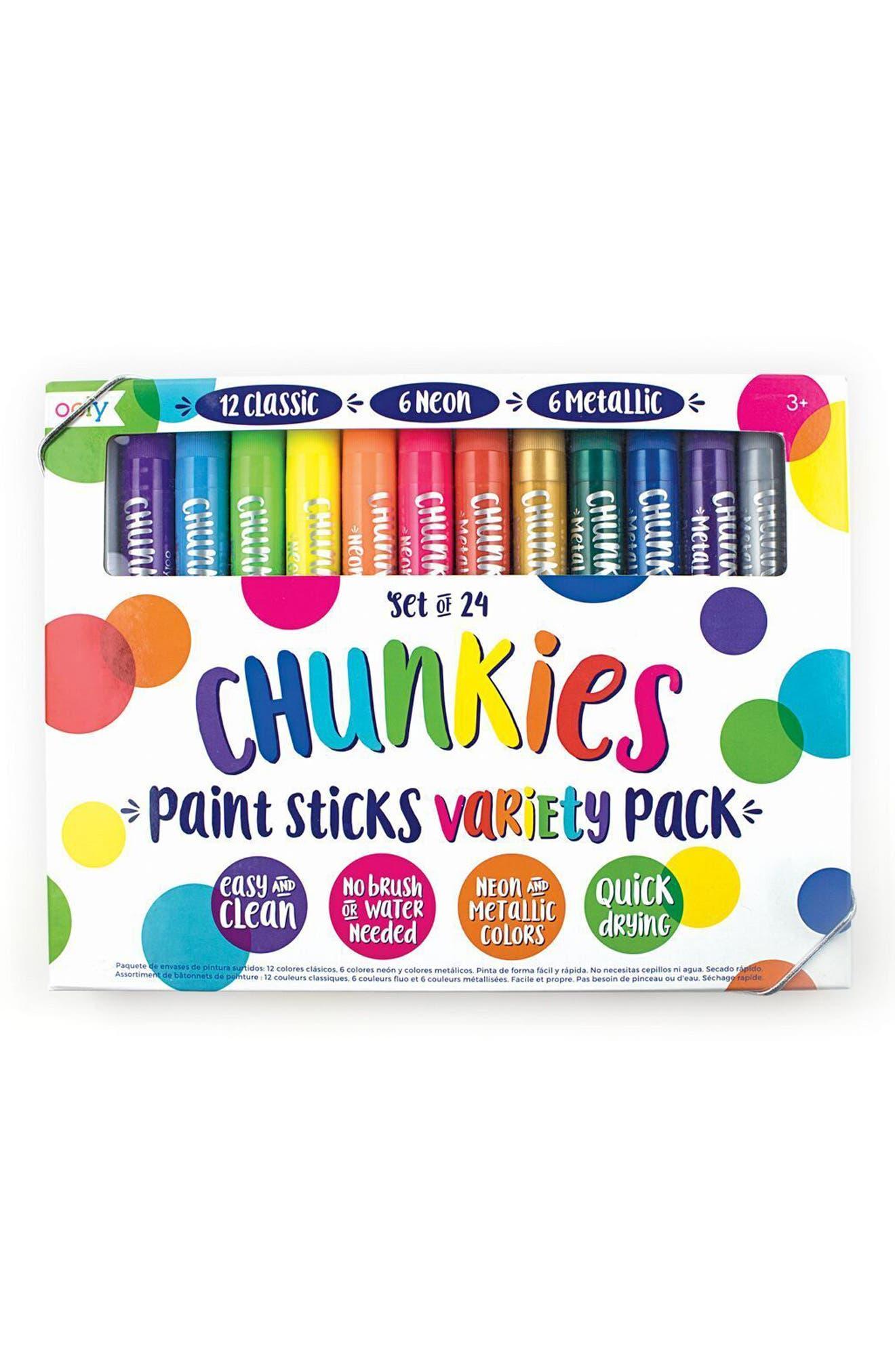 OOLY Chunkies Set of 24 Paint Sticks
