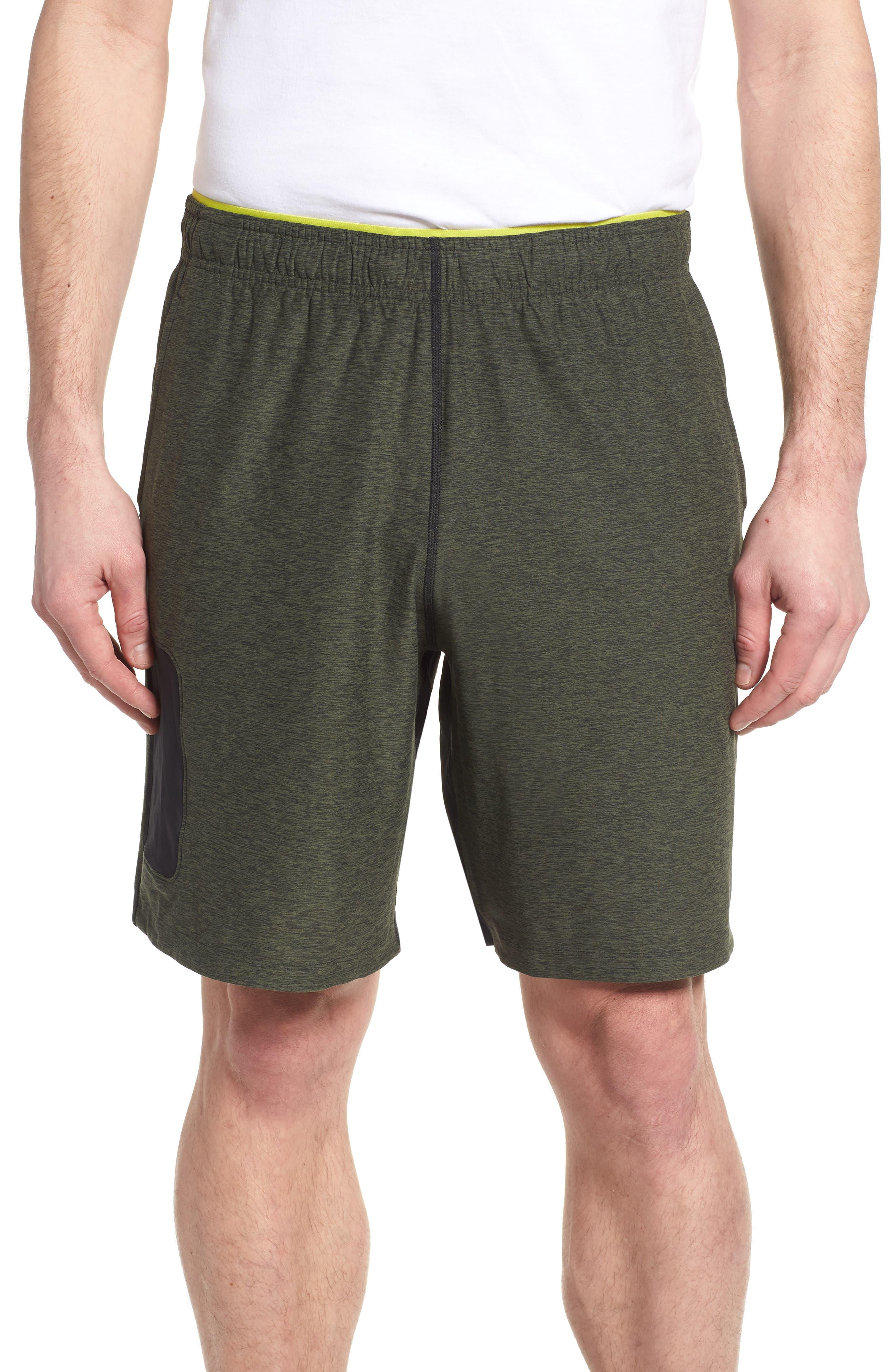 Anticipate Shorts,                             Main thumbnail 1, color,                             Dark Covert Green