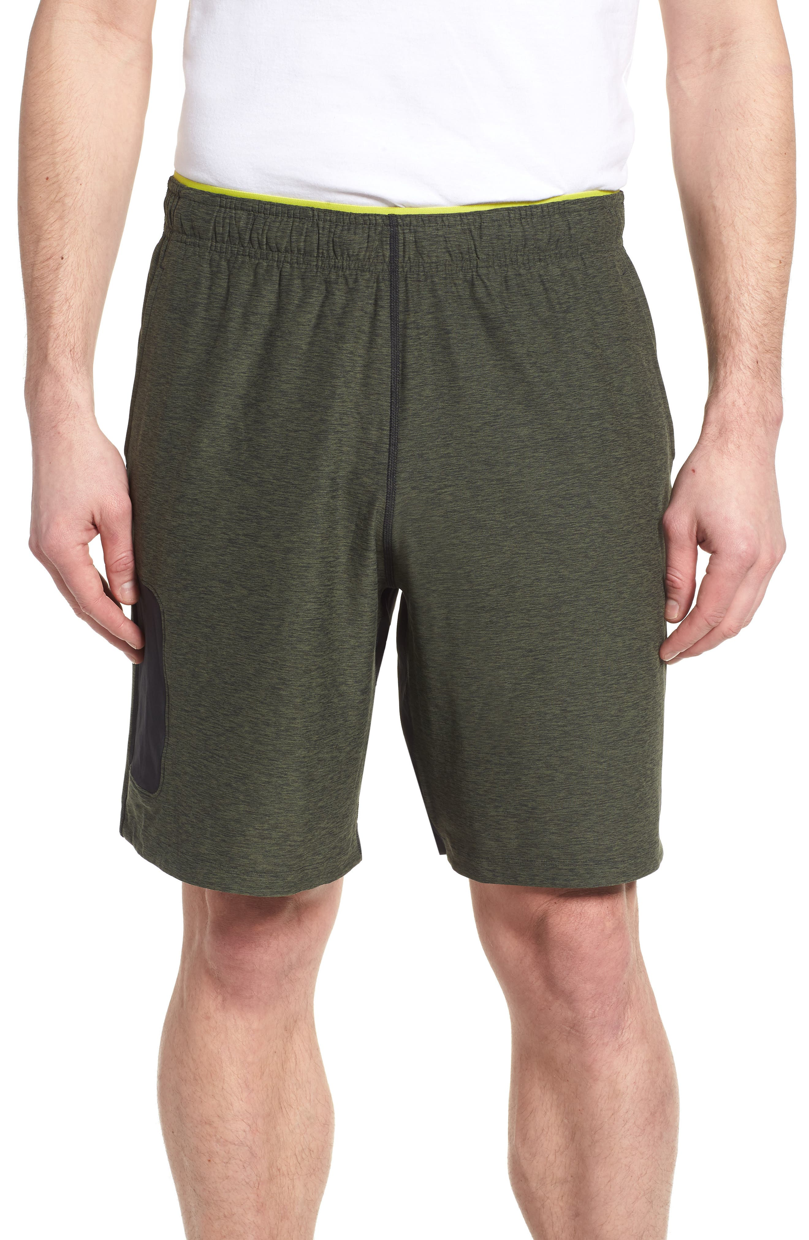 Anticipate Shorts,                         Main,                         color, Dark Covert Green
