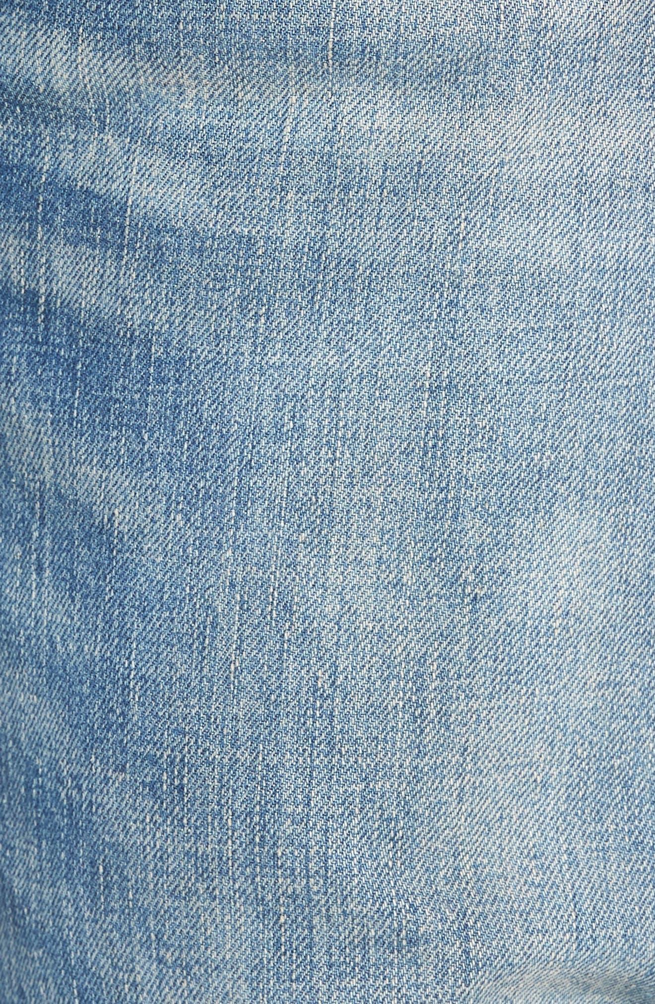 501<sup>®</sup> Original Straight Leg Jeans,                             Alternate thumbnail 5, color,                             The Patterson Lightweight