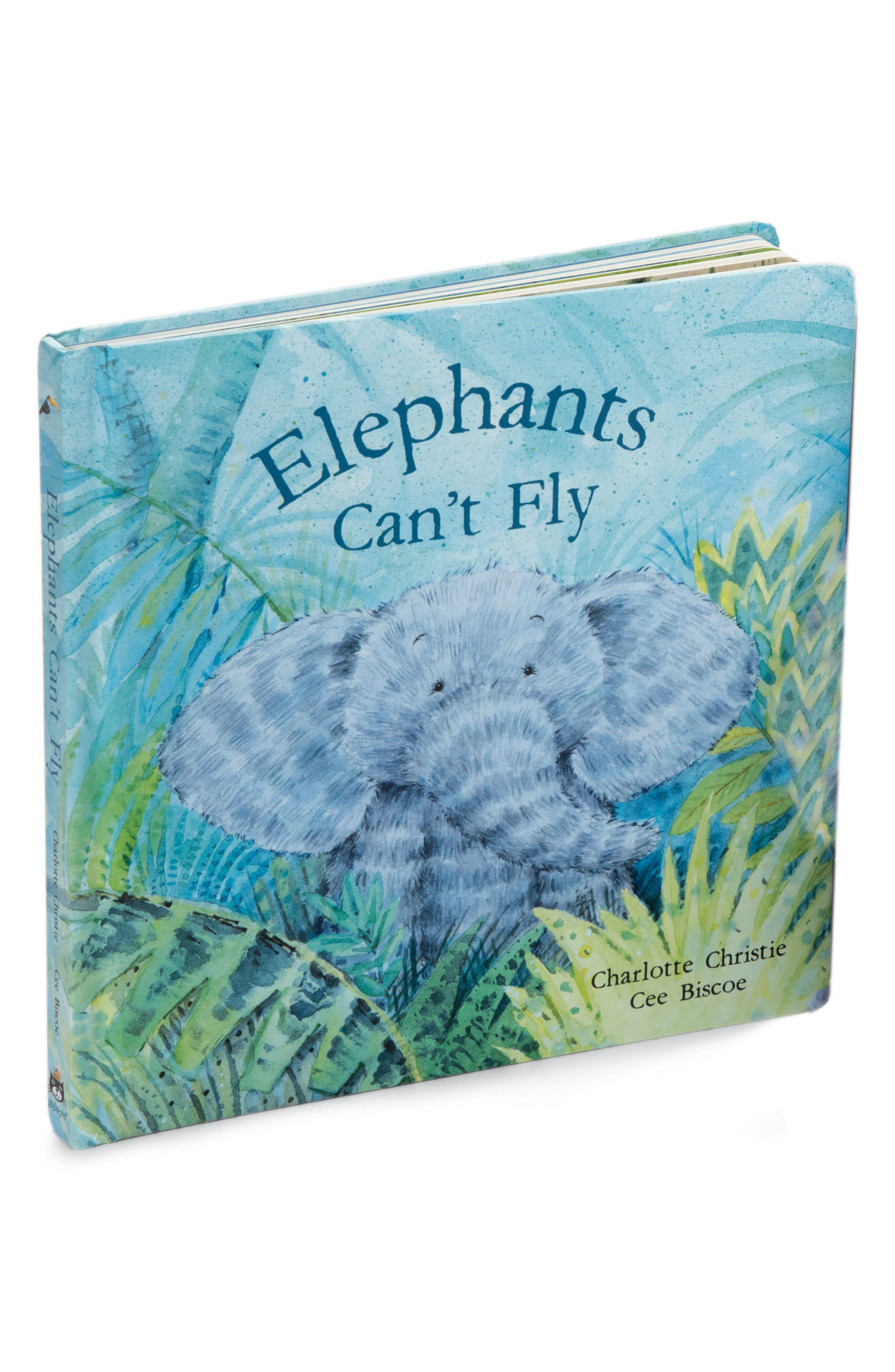 Elephants Can't Fly Book,                             Main thumbnail 1, color,                             Blue / Green