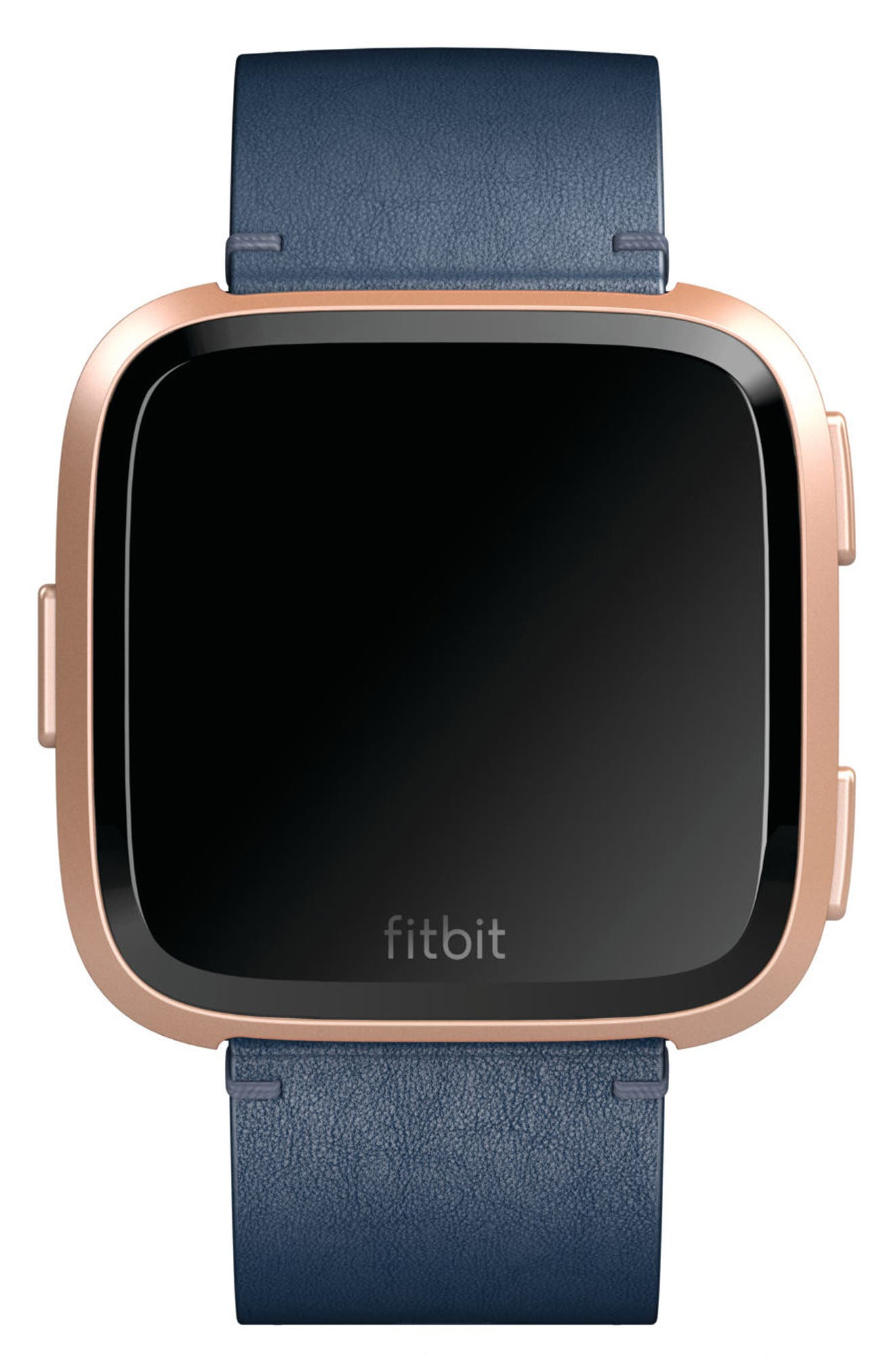 Womens Fitbit Watches Nordstrom Alta Hr Smartwatch Small Black Stainless Steel