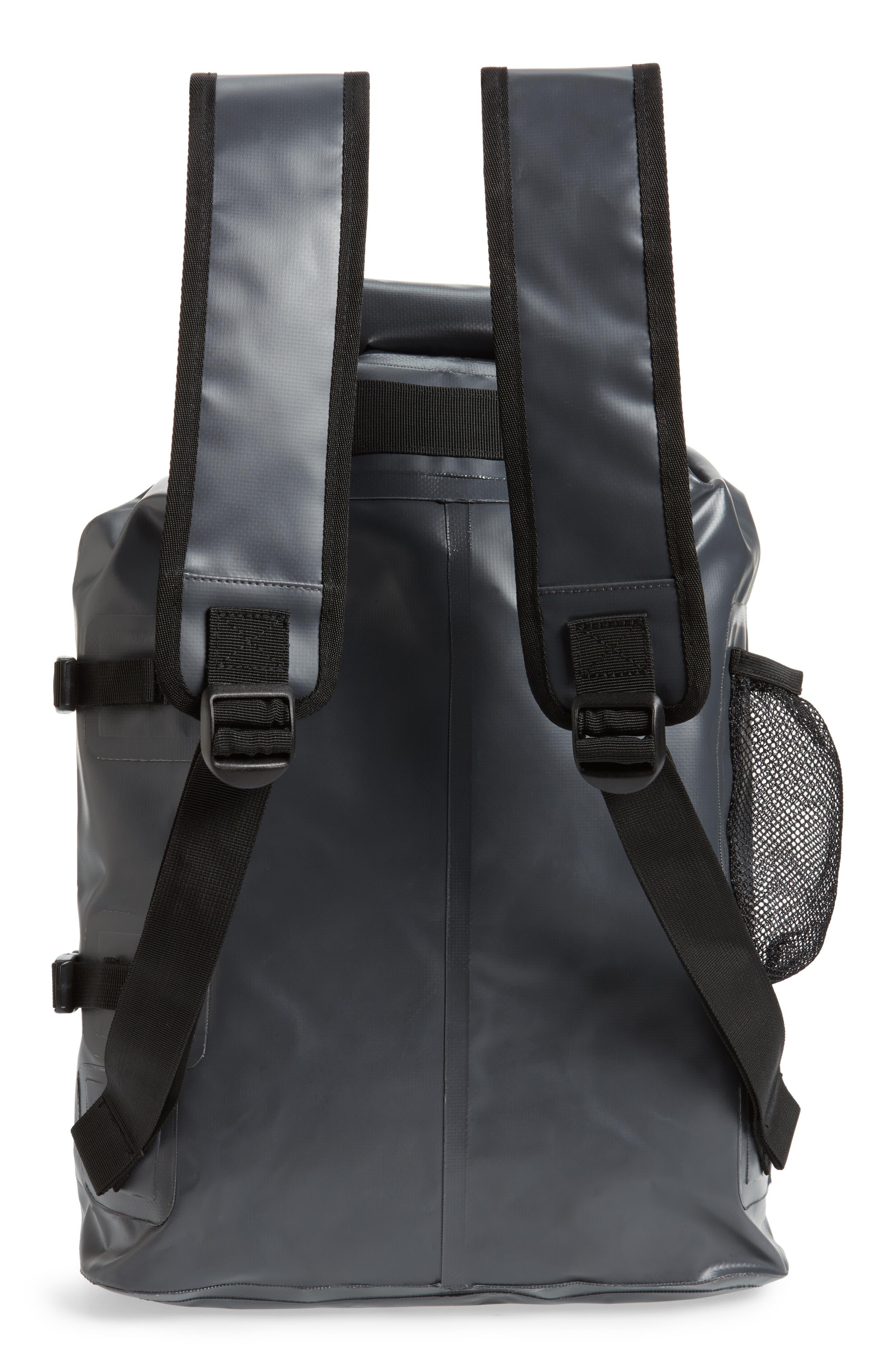 Go Be II Waterproof Backpack,                             Alternate thumbnail 3, color,                             Charcoal