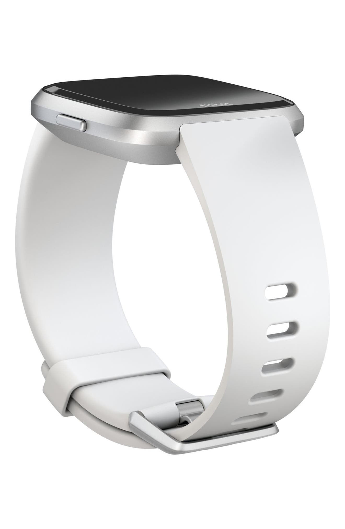 Versa Accessory Watch Band,                             Alternate thumbnail 2, color,                             White