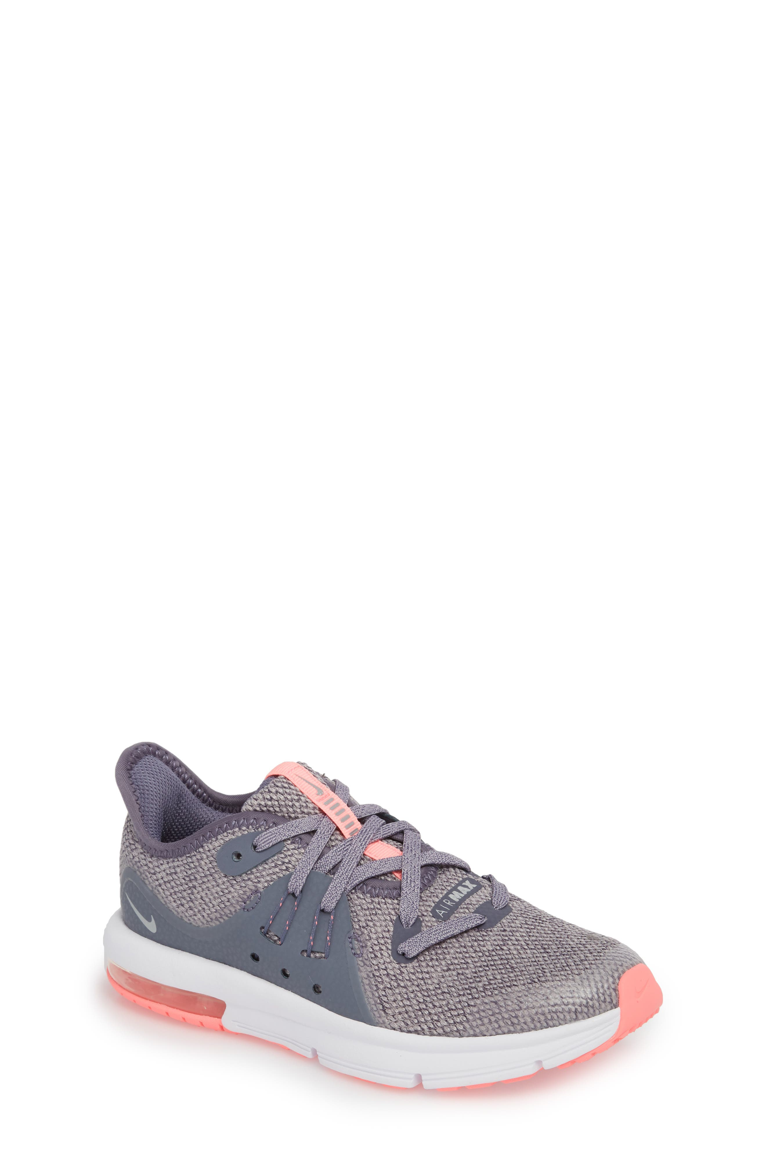 Alternate Image 1 Selected - Nike Air Max Sequent 3 GS Running Shoe (Toddler, Little Kid & Big Kid)