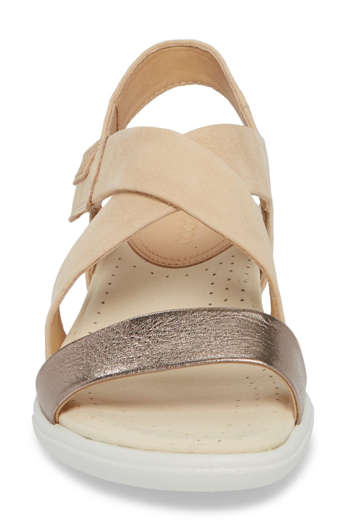 Damara Cross-Strap Sandal,                             Alternate thumbnail 5, color,                             Warm Grey Leather