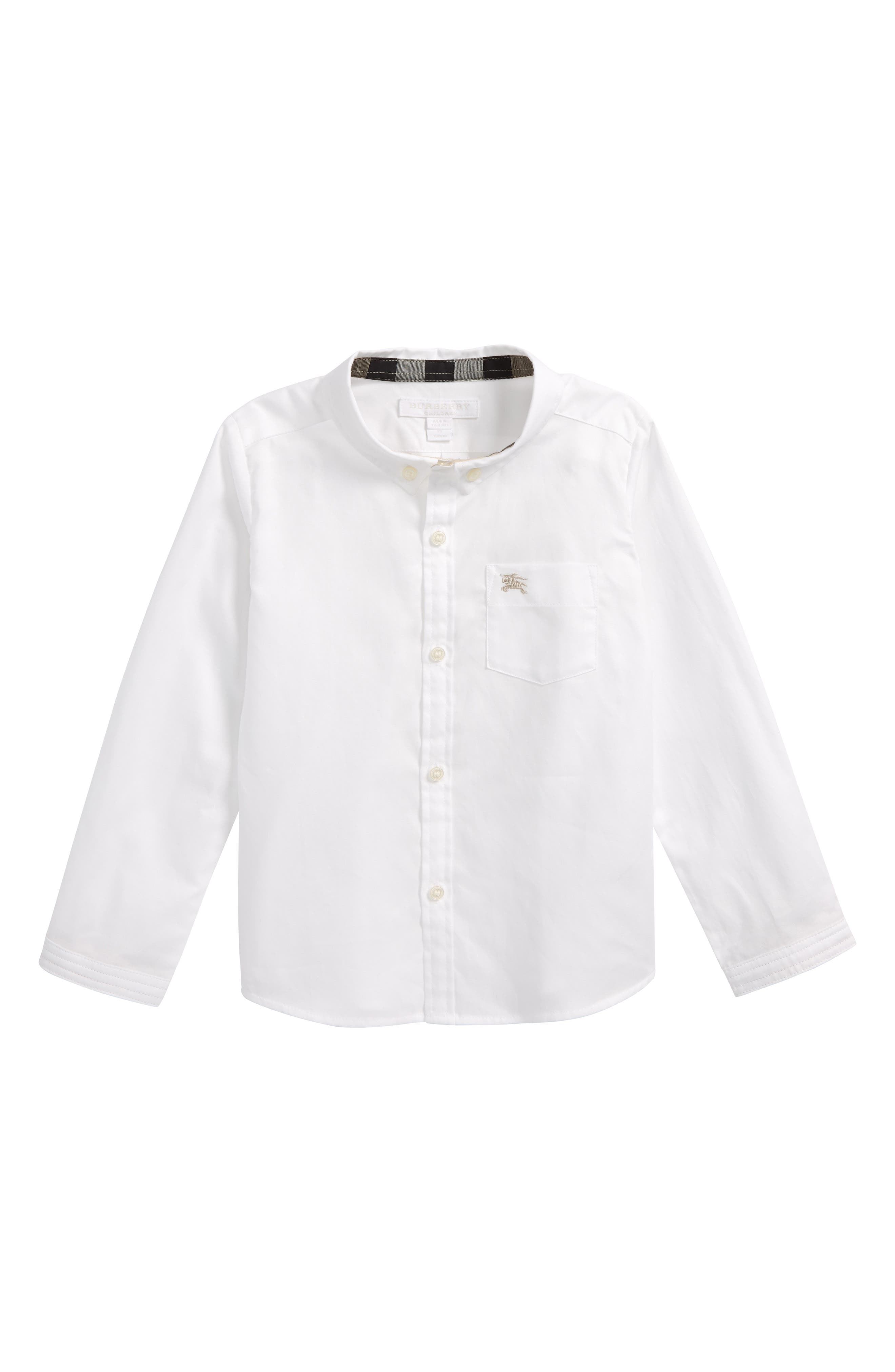 Fred Woven Shirt,                             Main thumbnail 1, color,                             White