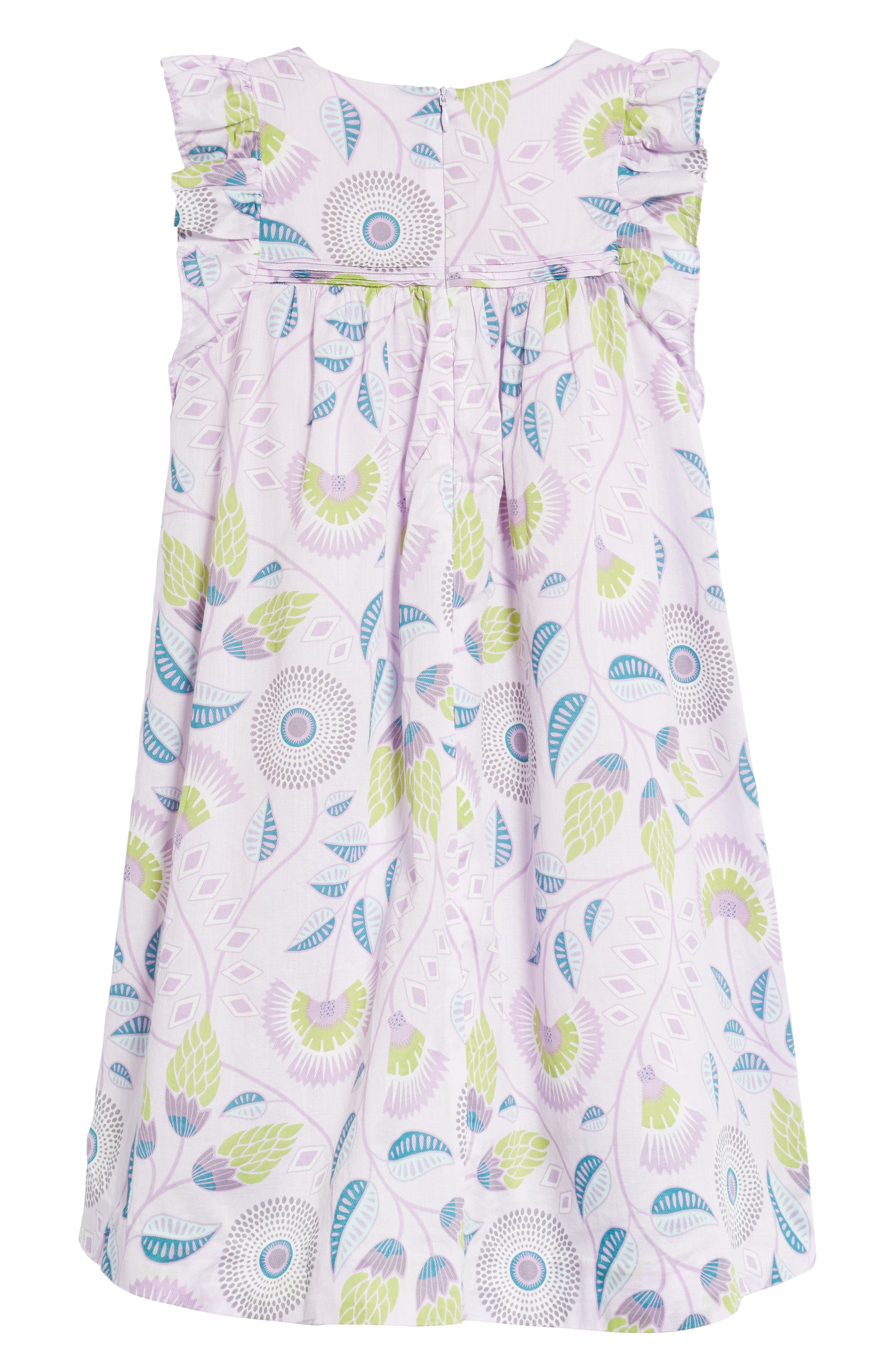 Blooming Floral High/Low Dress,                             Alternate thumbnail 2, color,                             African Lyrical