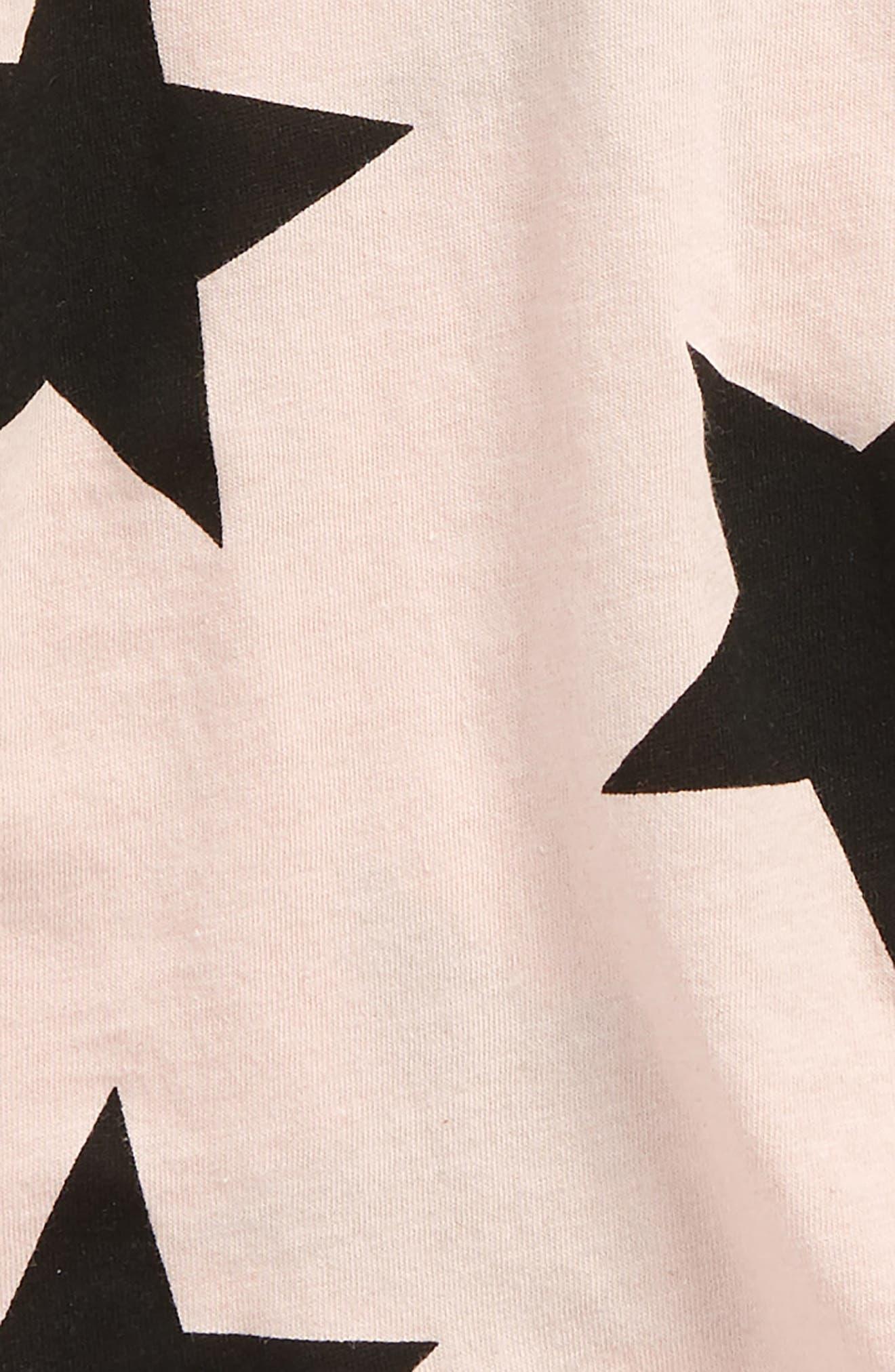 Star Bodysuit,                             Alternate thumbnail 2, color,                             Powder Pink