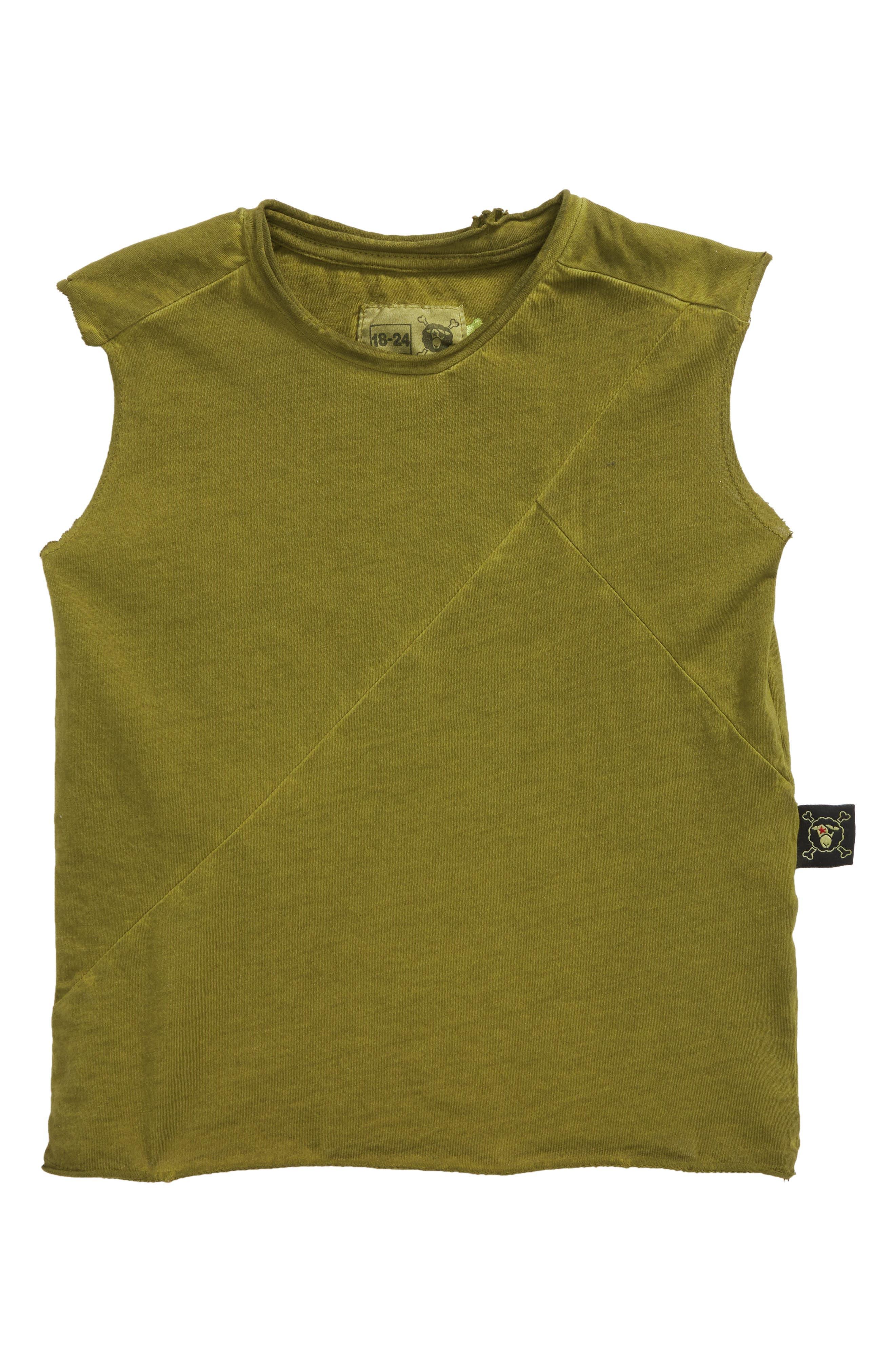 Diagonal Tank,                         Main,                         color, Rusty Green