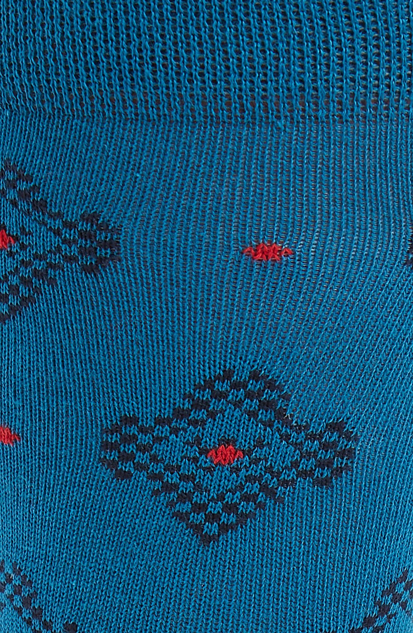 Veryhip Medallion Socks,                             Alternate thumbnail 2, color,                             Blue