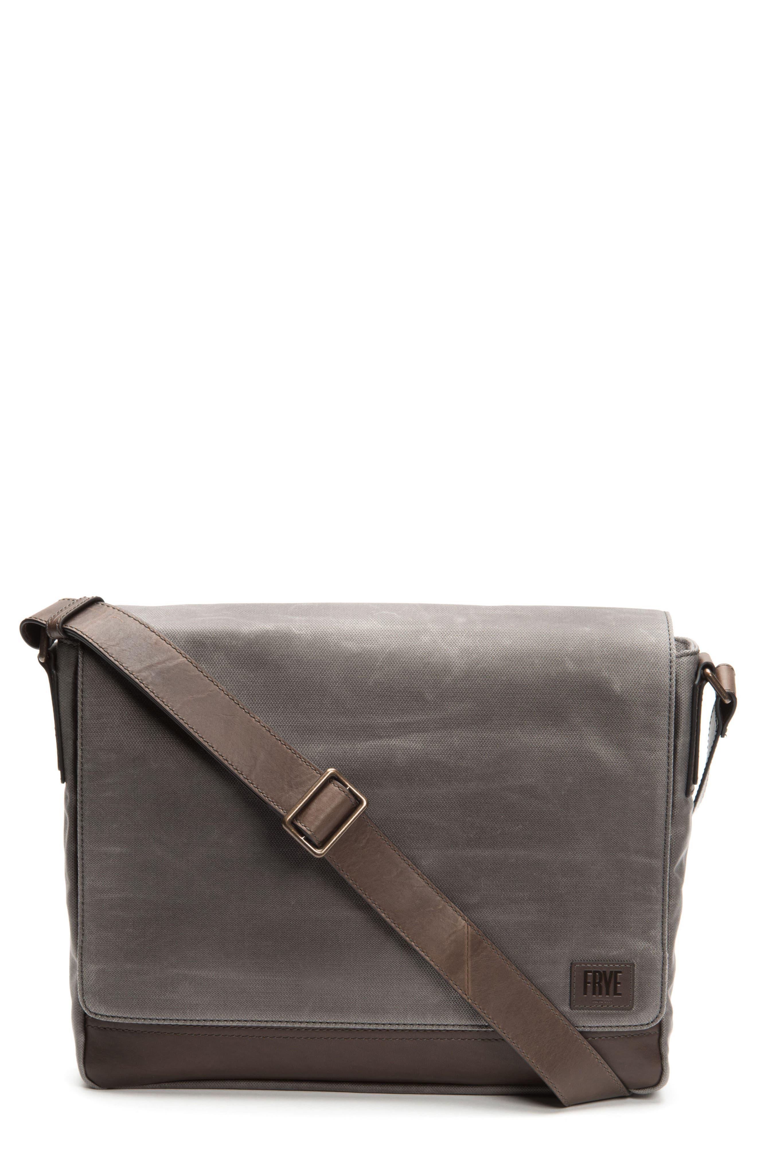 Frey Carter Messenger Bag,                             Main thumbnail 1, color,                             Slate