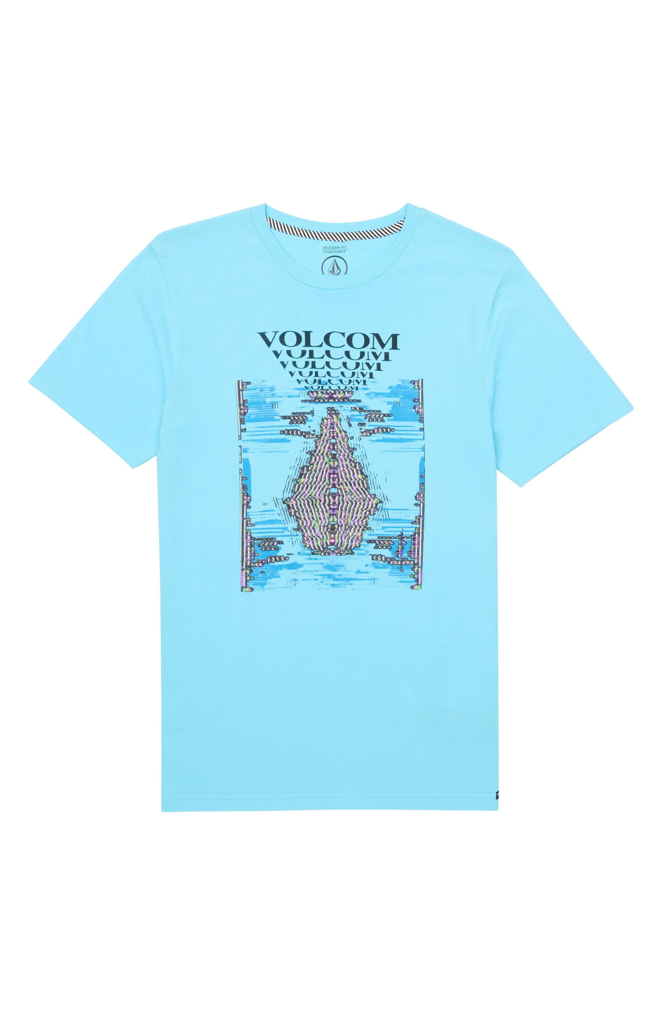 Volcom Digi Pool Graphic T-Shirt (Big Boys)
