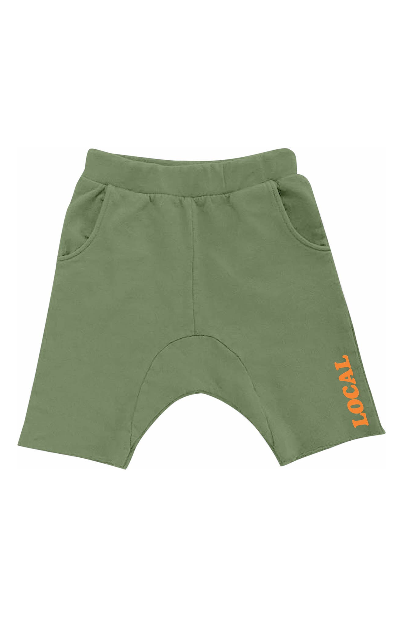 Alternate Image 1 Selected - Tiny Whales Cozy Time Shorts (Toddler Boys, Little Boys & Big Boys)