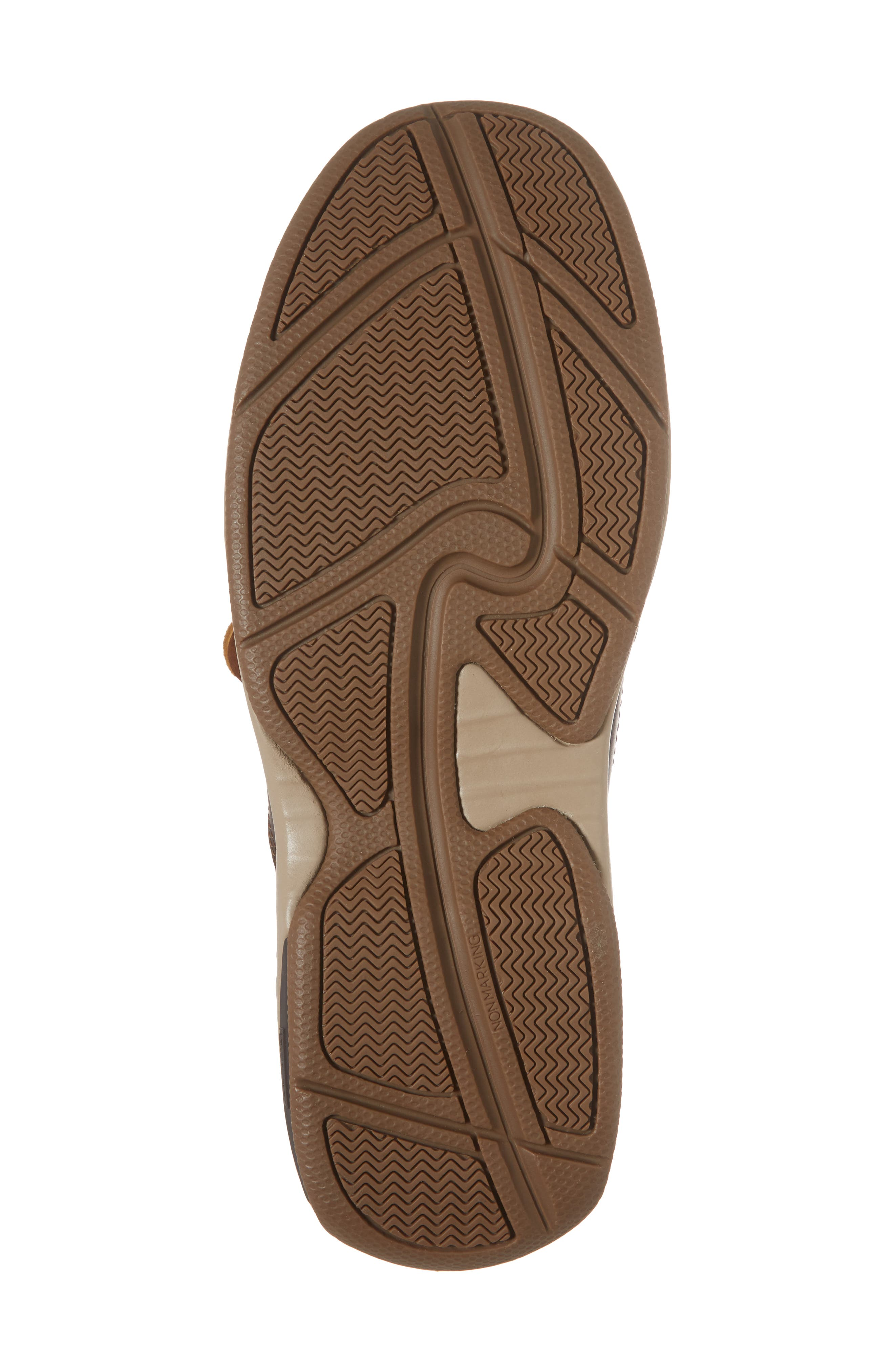 LTD Water Resistant Boat Shoe,                             Alternate thumbnail 6, color,                             Tan Leather