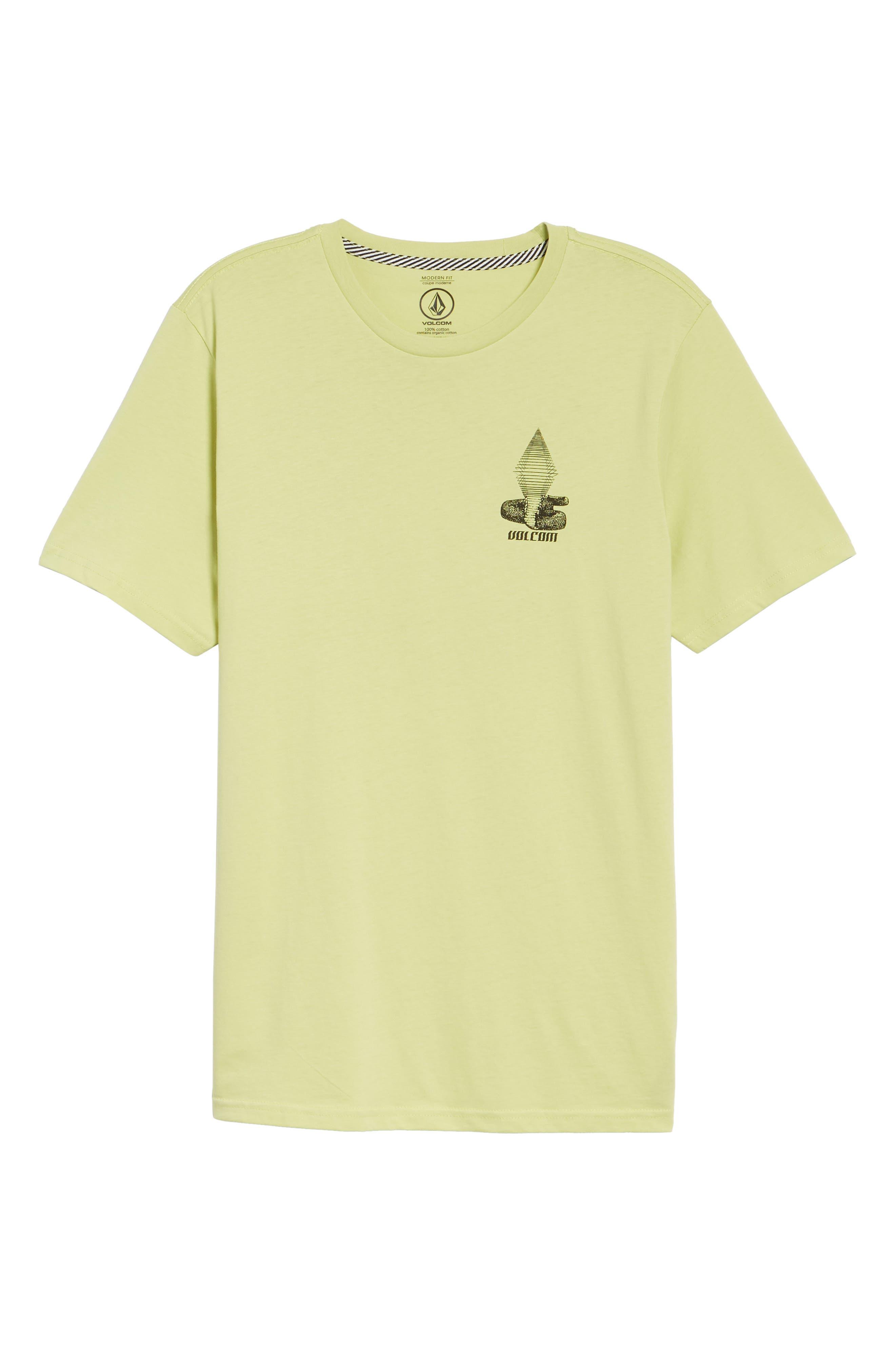 Digital Poison Graphic T-Shirt,                             Alternate thumbnail 6, color,                             Lime