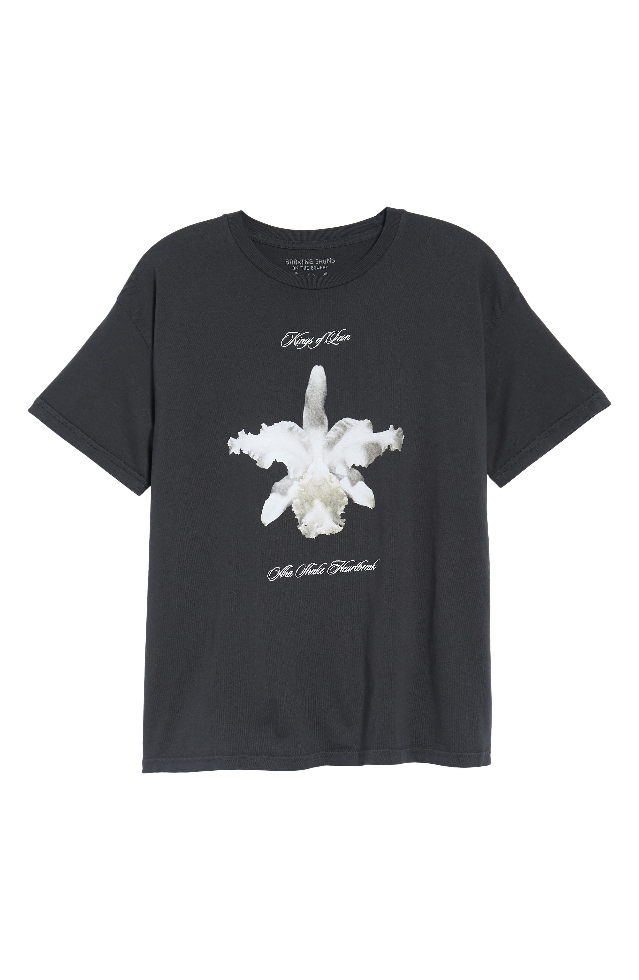 Kings of Leon Aha Shake Heartbreak T-Shirt,                             Alternate thumbnail 6, color,                             Dusty Black