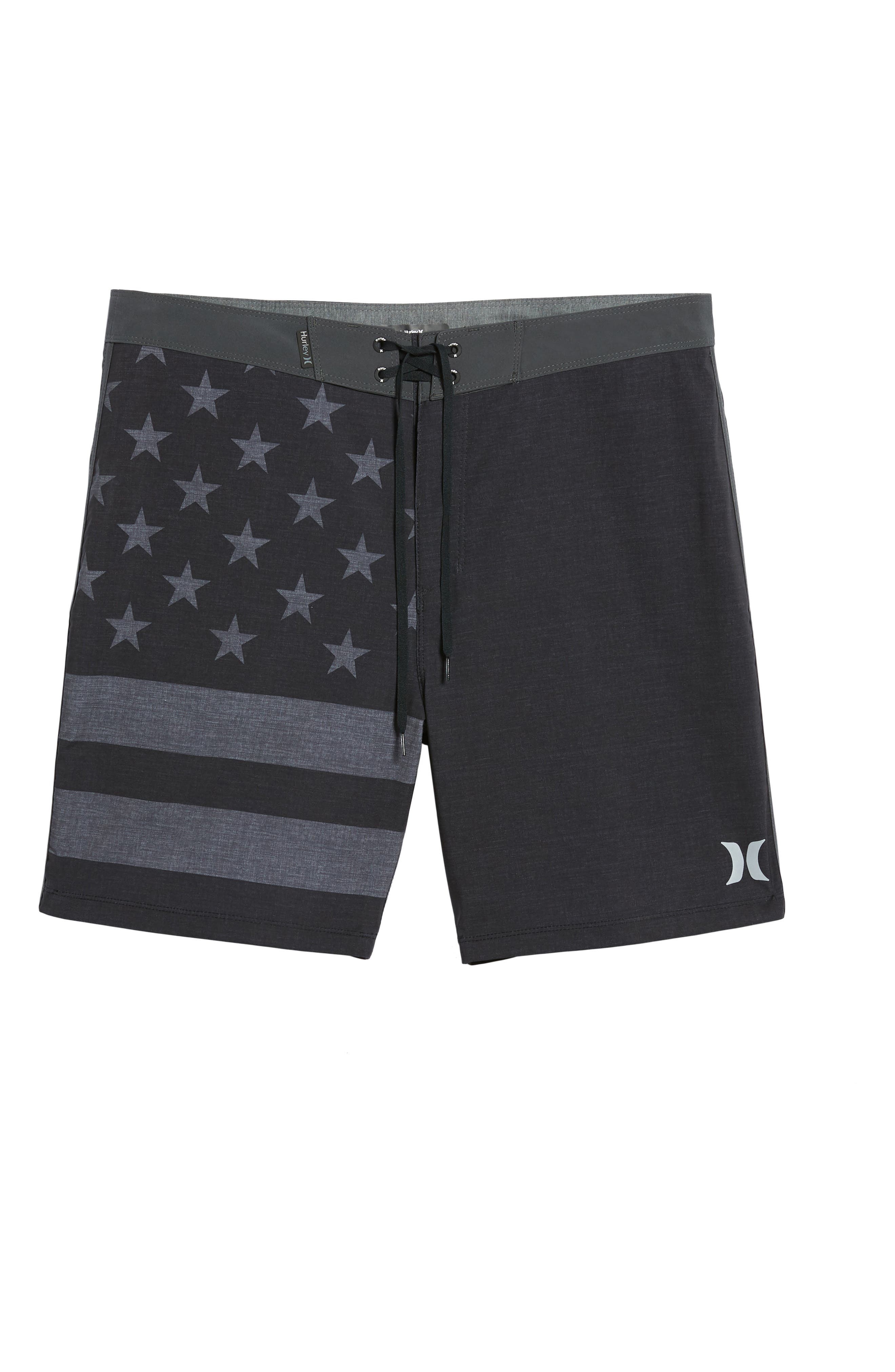 Phantom Cheers Board Shorts,                             Alternate thumbnail 6, color,                             Black