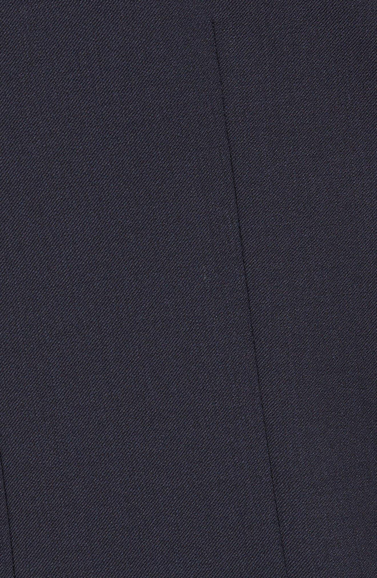 Wilson CYL Trim Fit Vest,                             Alternate thumbnail 5, color,                             Dark Blue