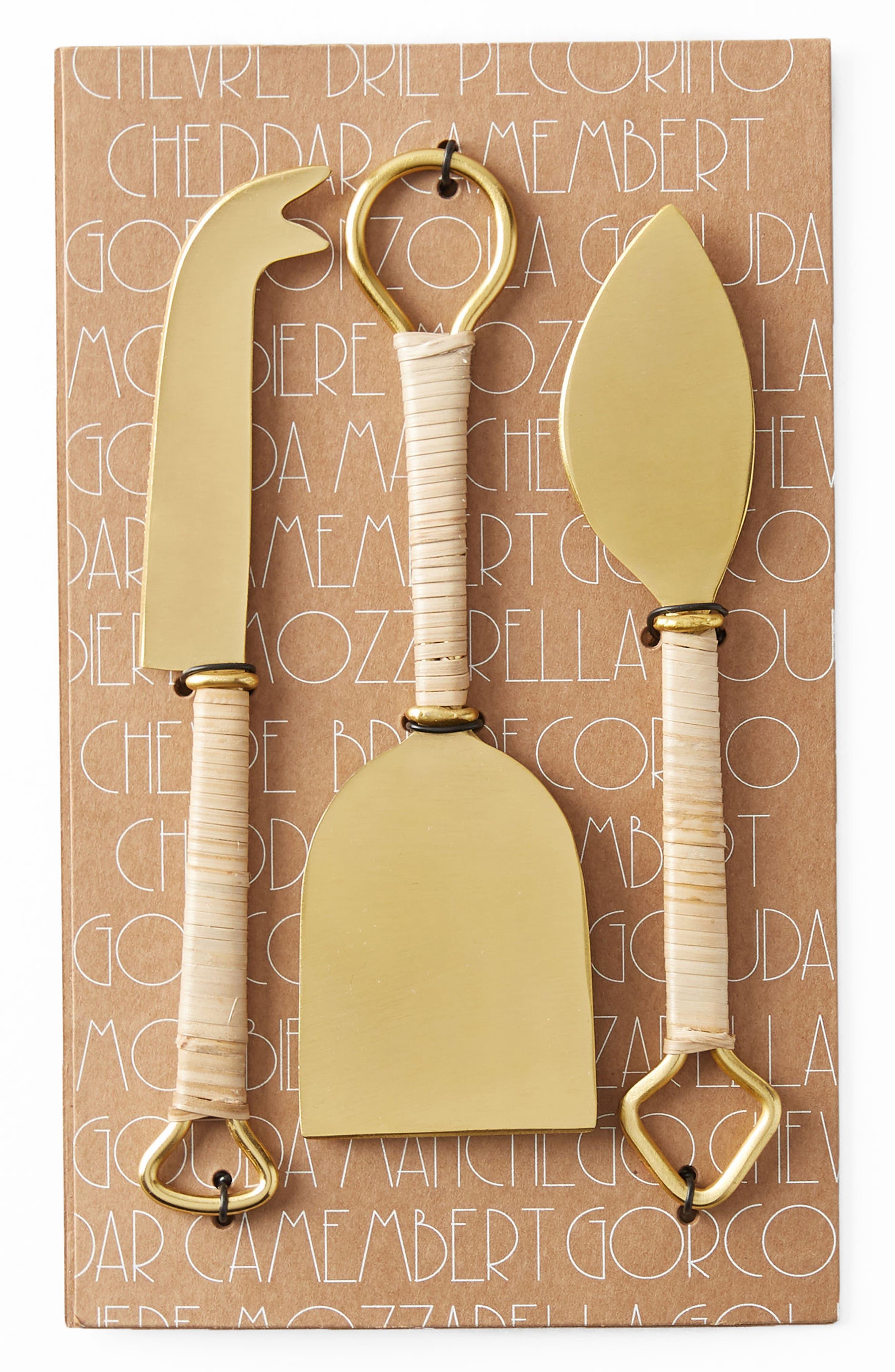 Alternate Image 5  - Anthropologie Mikata 3-Piece Cheese Knife Set