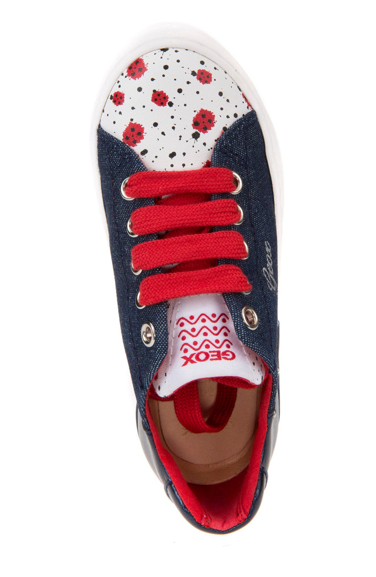 Ciak Low Top Sneaker,                             Alternate thumbnail 4, color,                             Jeans/ Navy
