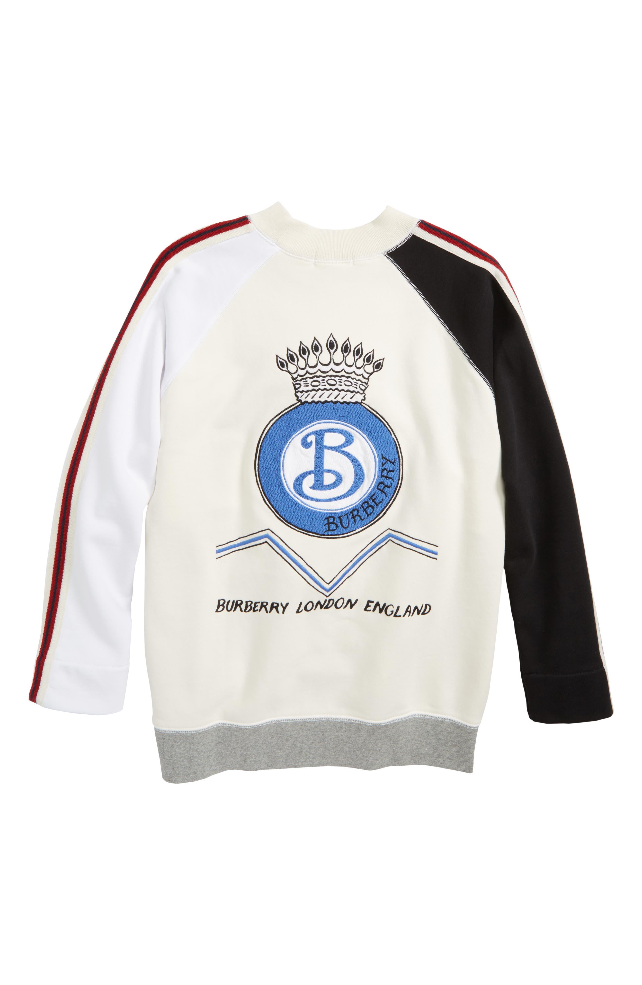 Alternate Image 2  - Burberry Henrick Sweater (Little Boys & Big Boys)