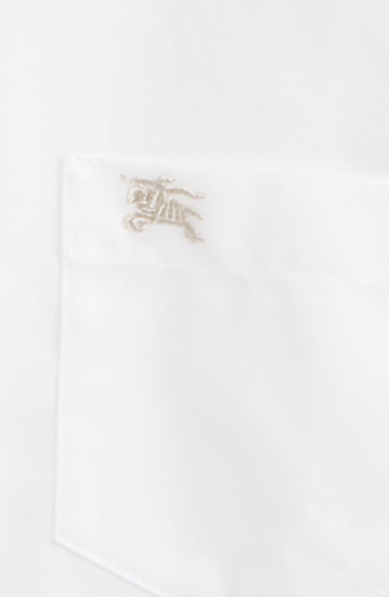 Fred Woven Shirt,                             Alternate thumbnail 2, color,                             White