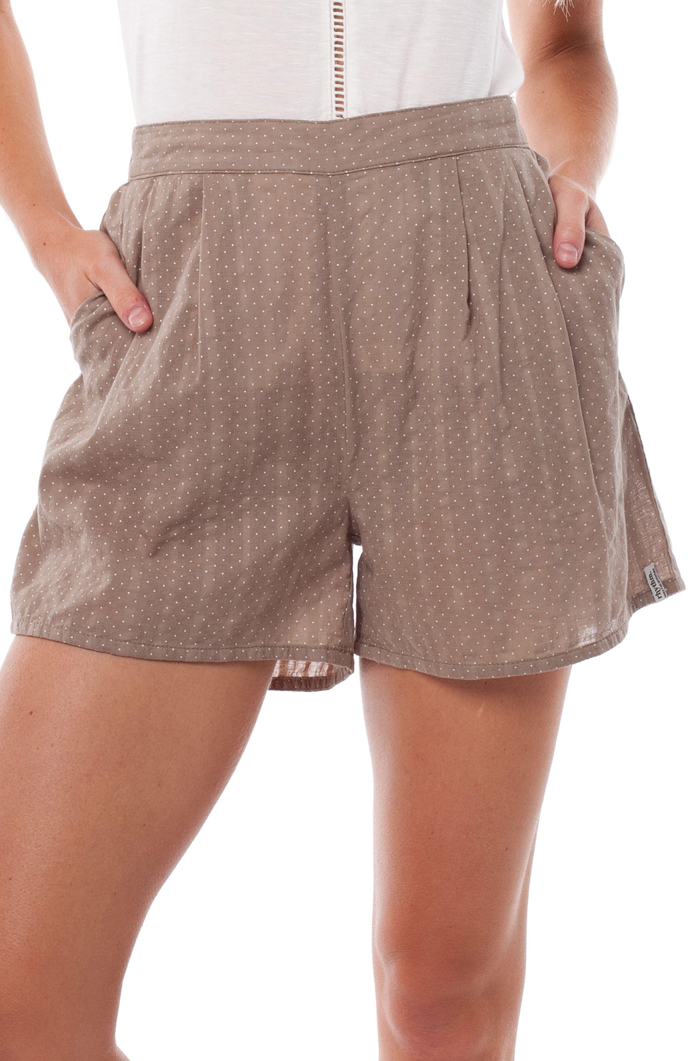 Messina Cover-Up Shorts,                             Main thumbnail 1, color,                             Chai