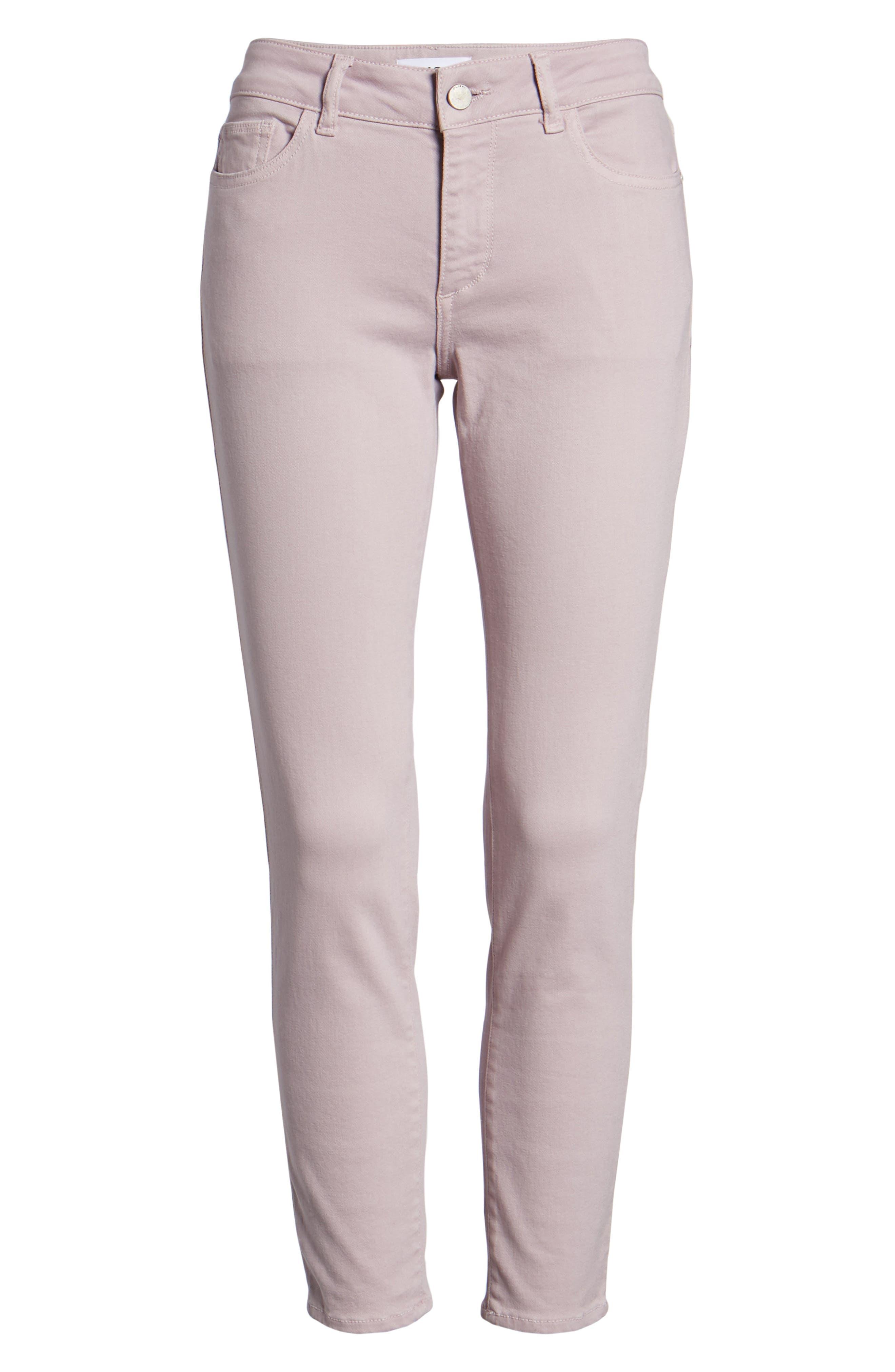 Florence Instasculpt Crop Skinny Jeans,                             Alternate thumbnail 7, color,                             Magnolia