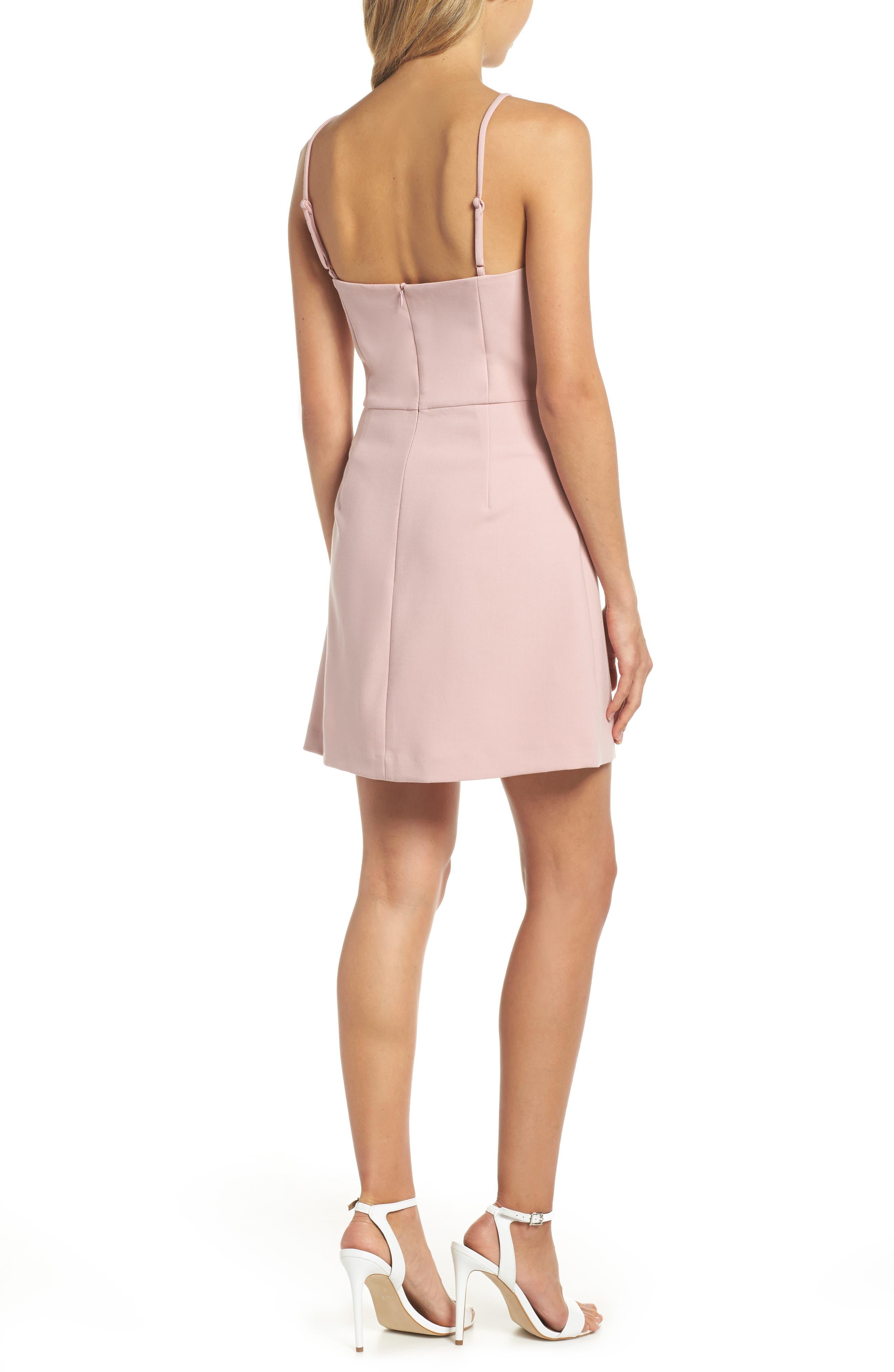 Whisper Light Sweetheart Minidress,                             Alternate thumbnail 2, color,                             Tea Gown