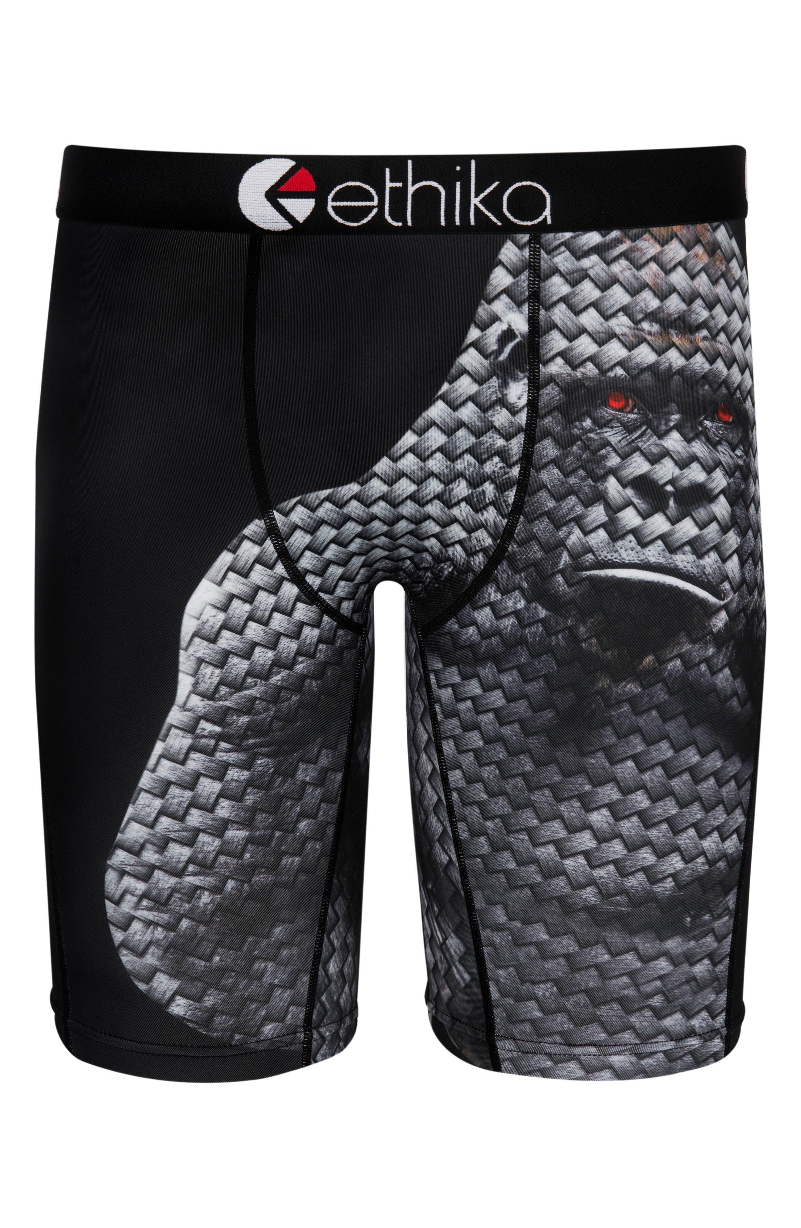Carbon Ape Boxer Briefs,                             Main thumbnail 1, color,                             Black