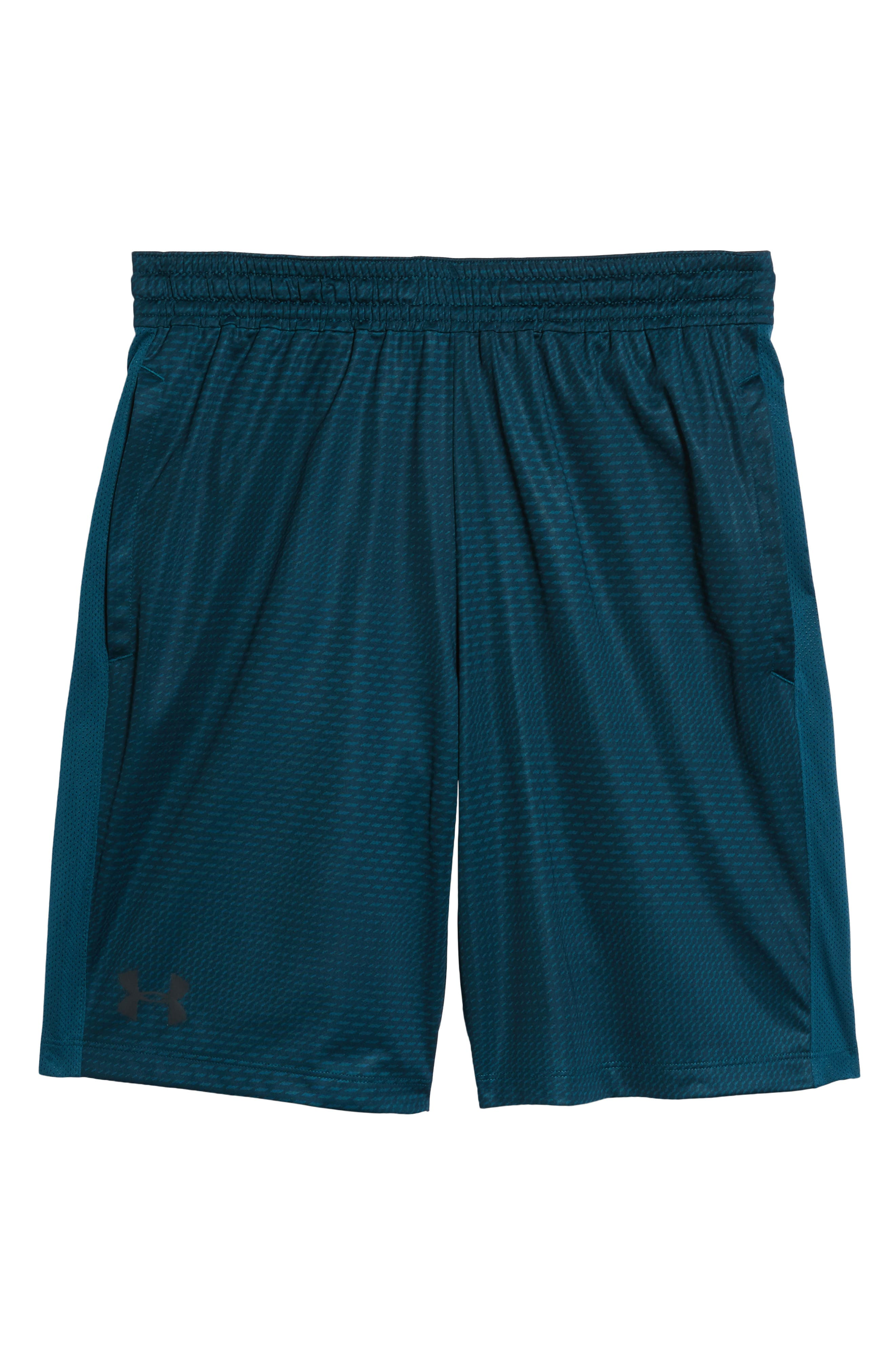 Raid 2.0 Classic Fit Shorts,                             Alternate thumbnail 6, color,                             Tourmaline Teal/ Stealth Gray