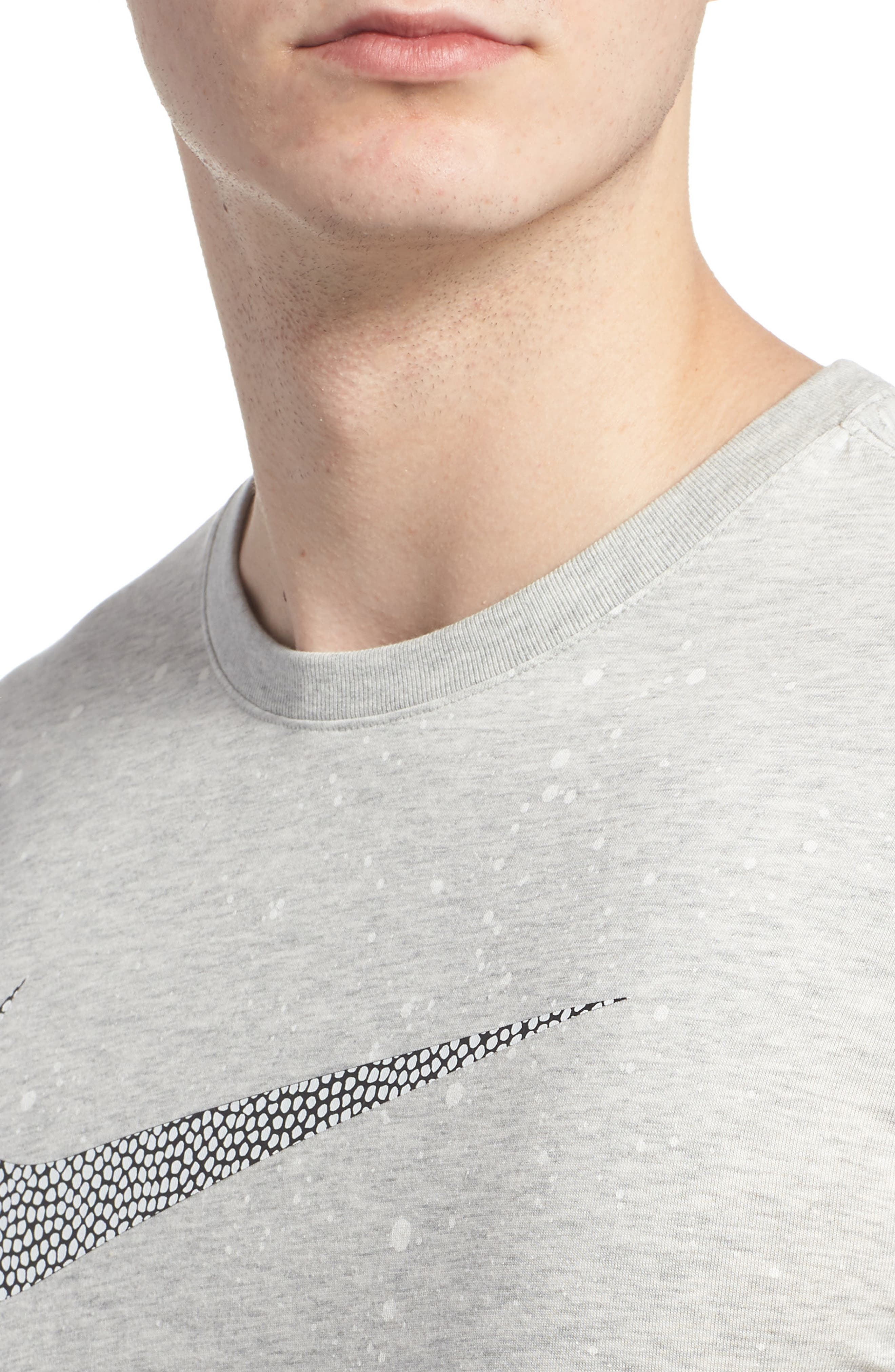 Dry T-Shirt,                             Alternate thumbnail 4, color,                             Grey Heather