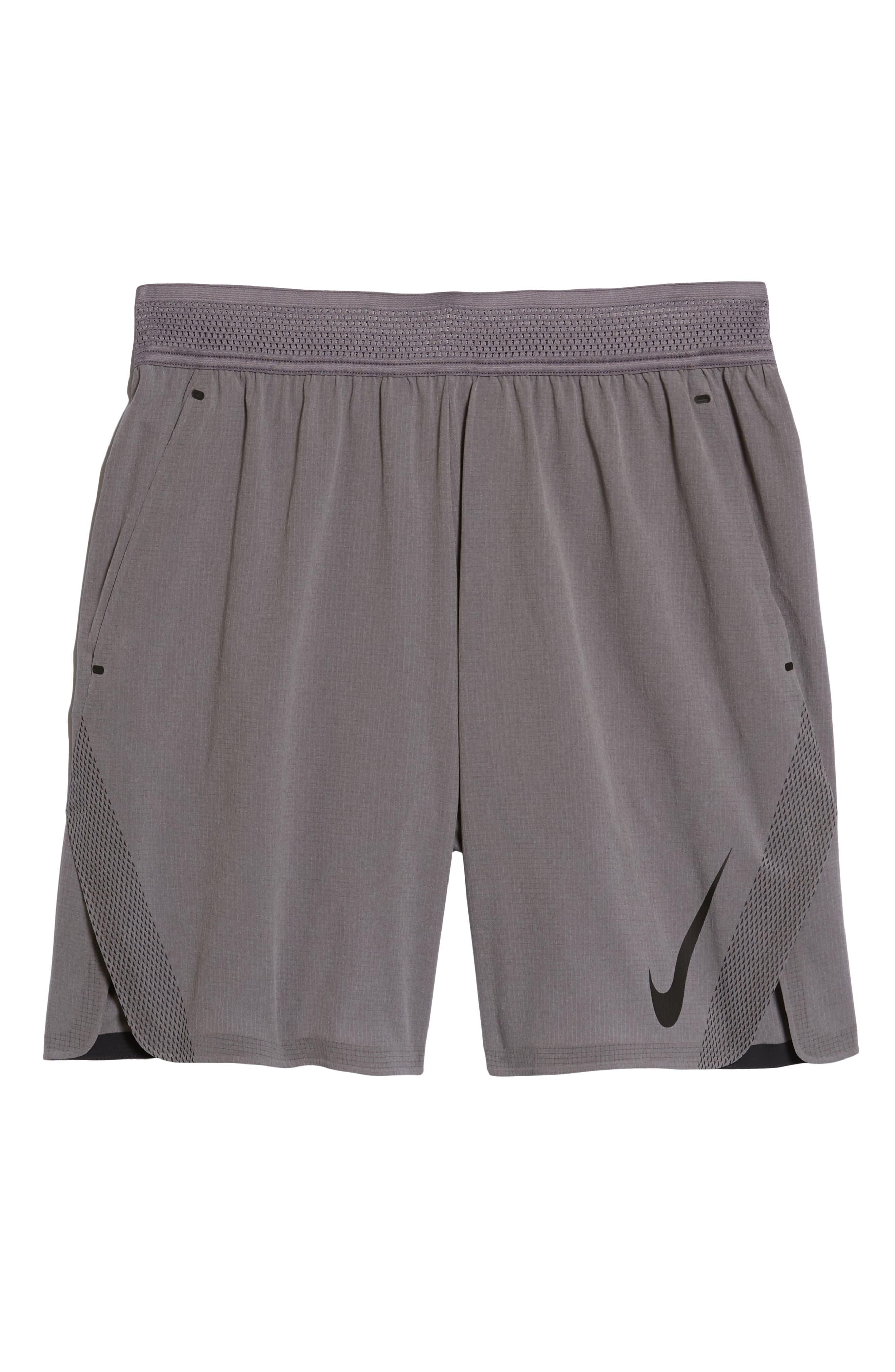 Repel 3.0 Flex Training Shorts,                             Alternate thumbnail 6, color,                             Gun Smoke/ Grey/ Black