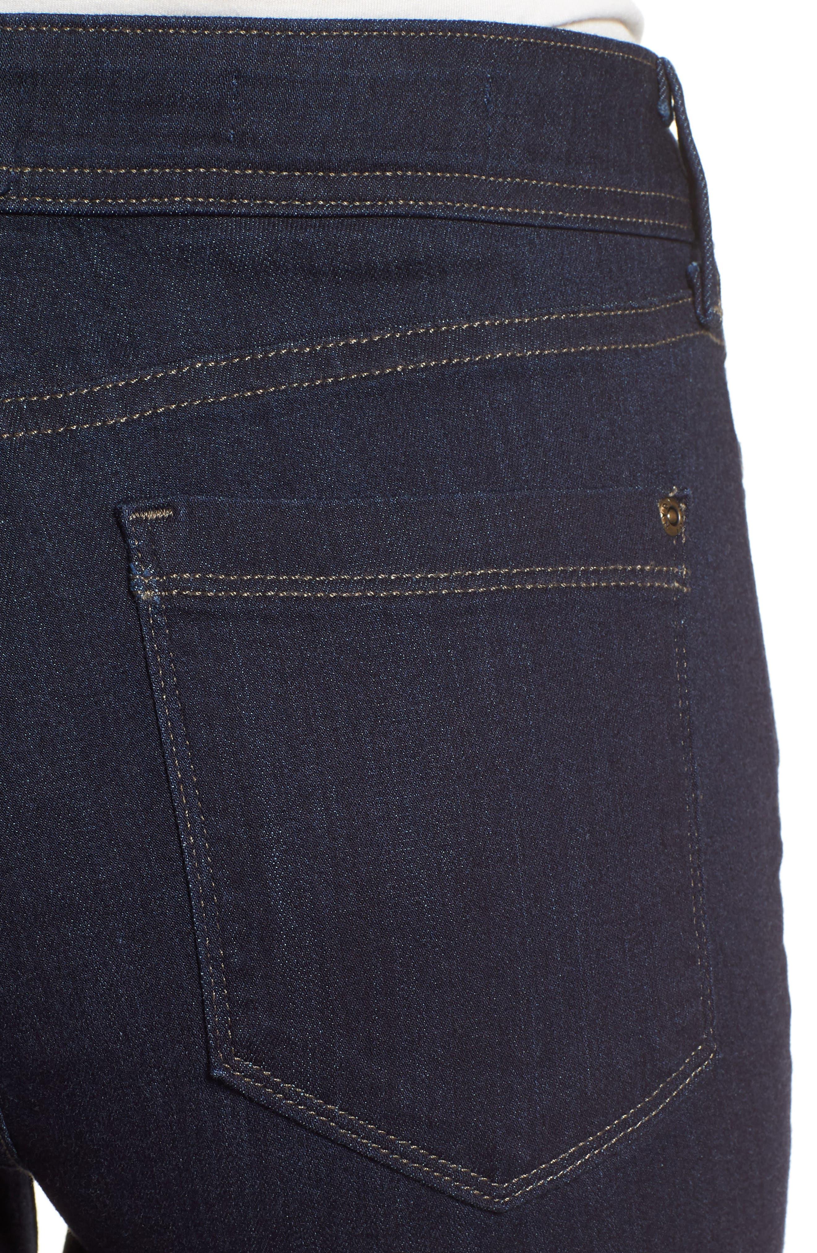 Billie Mini Bootcut Jeans,                             Alternate thumbnail 4, color,                             Mabel