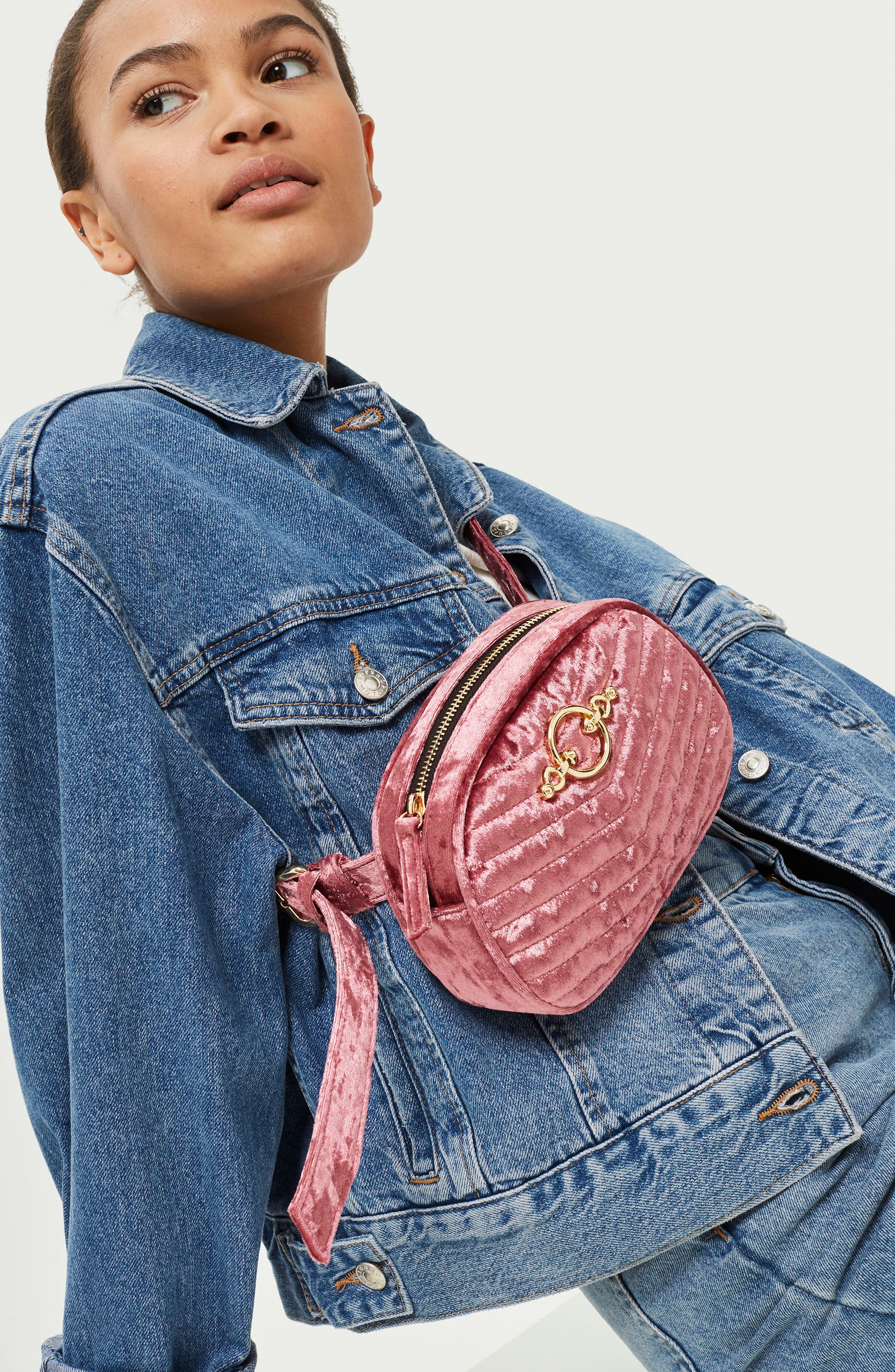Queenie Quilted Bumbag,                             Alternate thumbnail 5, color,
