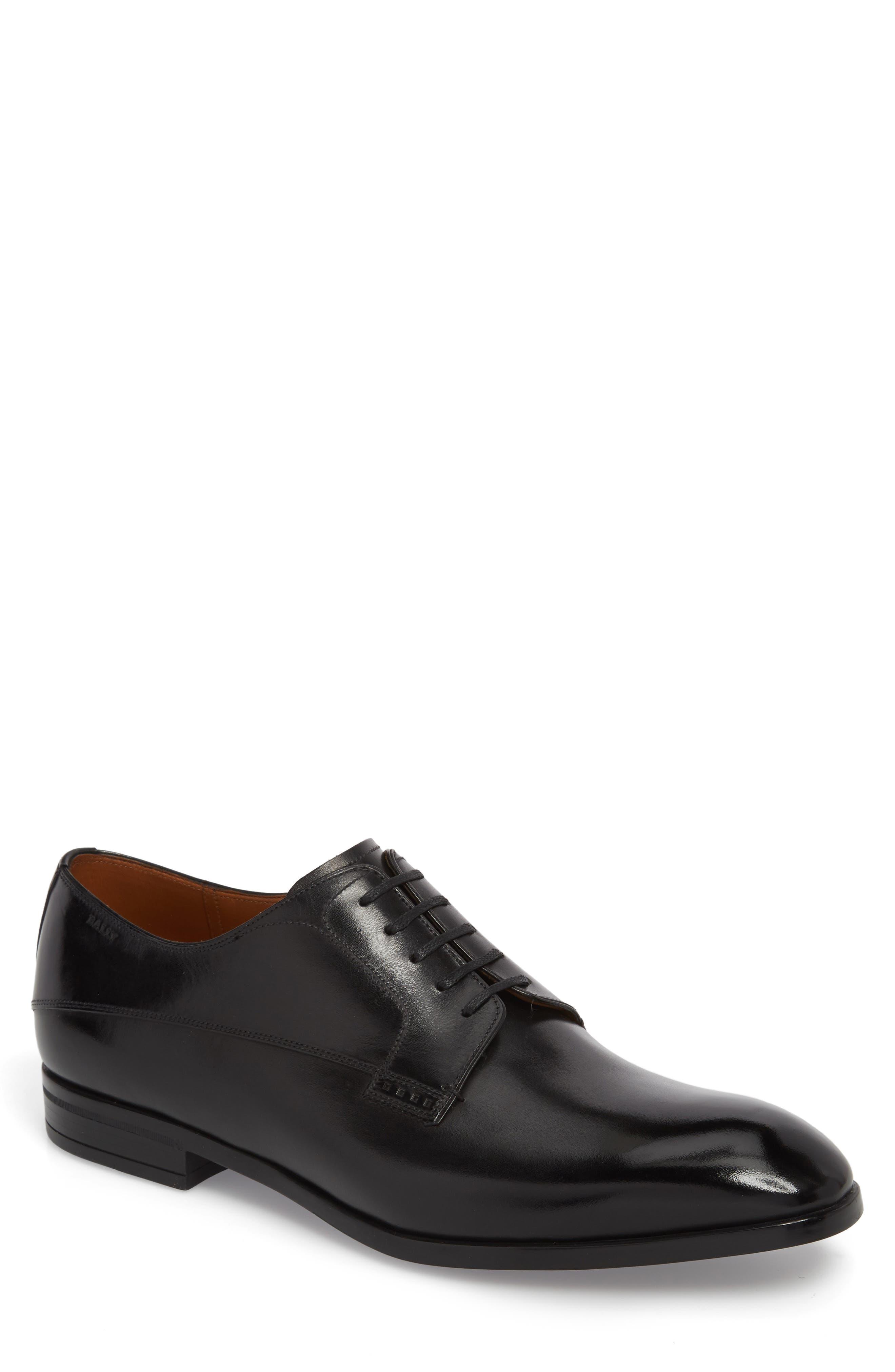 Lantel Plain Toe Derby,                         Main,                         color, Black