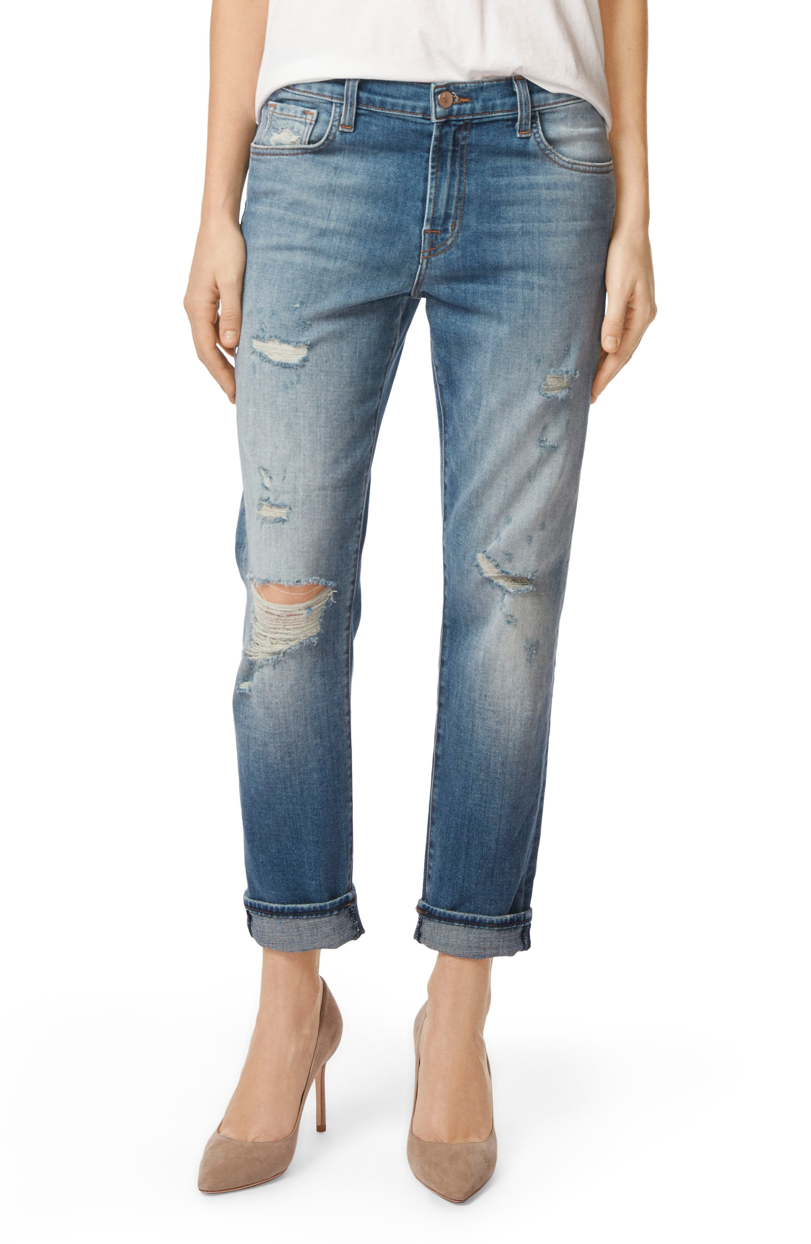 Alternate Image 1 Selected - J Brand Johnny Boyfriend Jeans