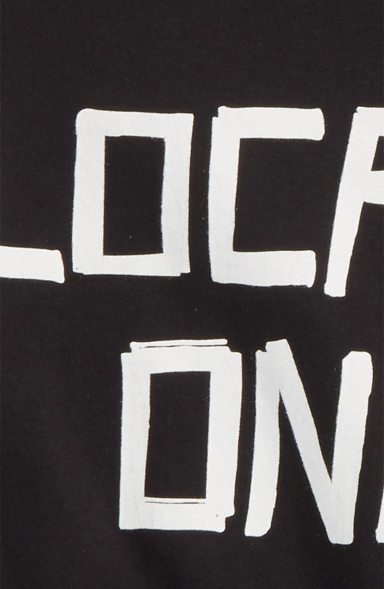 Locals Only T-Shirt,                             Alternate thumbnail 2, color,                             Black